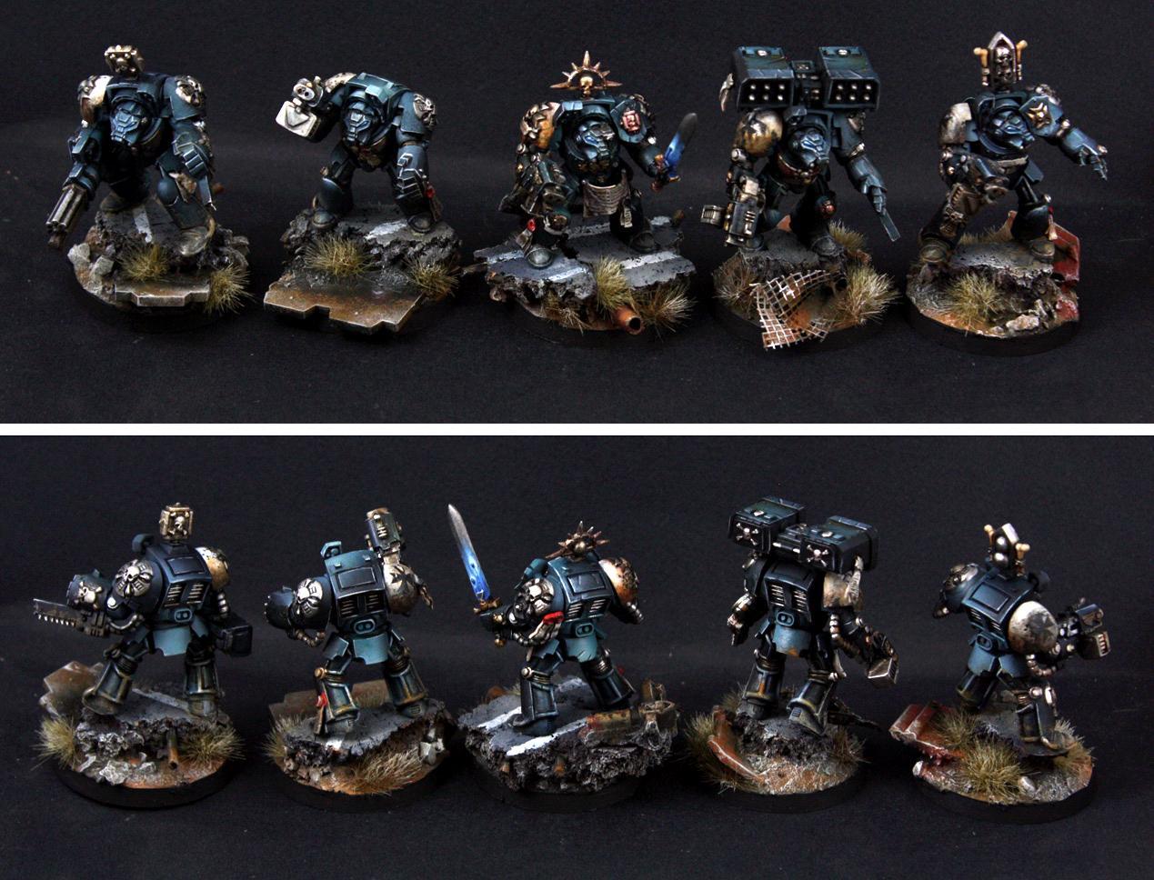 Black Templars, Blood Angels, Painting Service, Space Marines