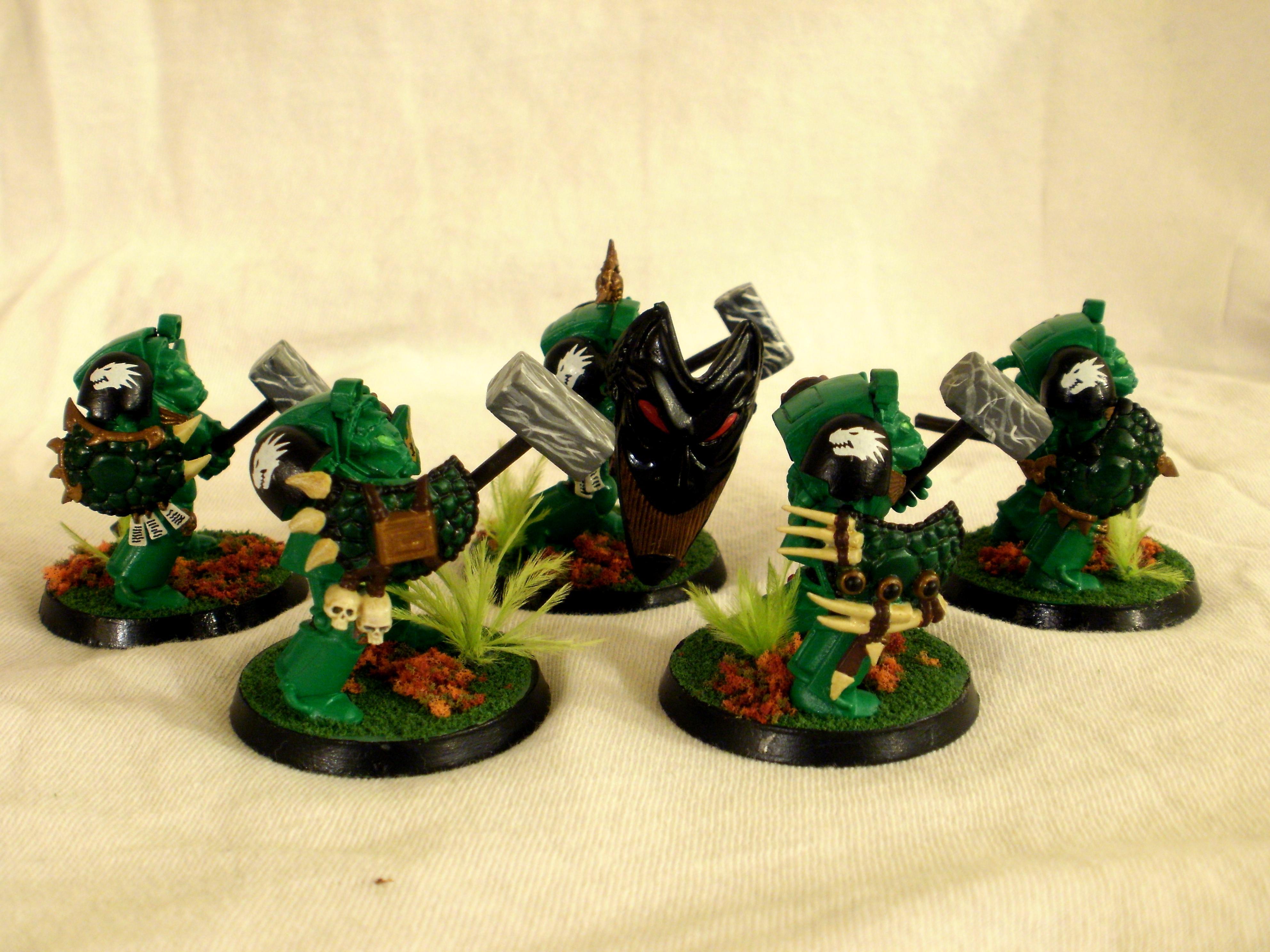 Assault, Lizardmen, Salamanders, Terminator Armor