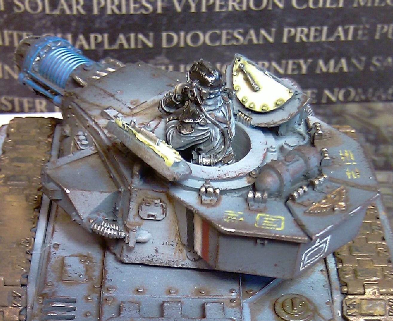 Death Korps of Krieg, Executor, Imperial Guard, Imperium Of Man, Leman Russ, Warhammer 40,000