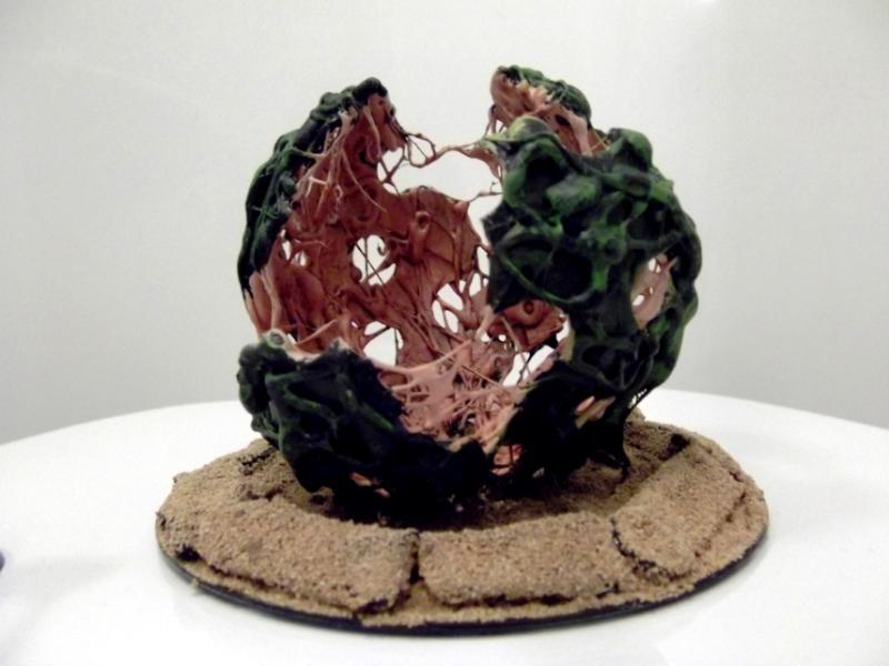 Conversion, Mycetic Spore, Scratch Build, Sculpting, Tyranids, Vallhemn