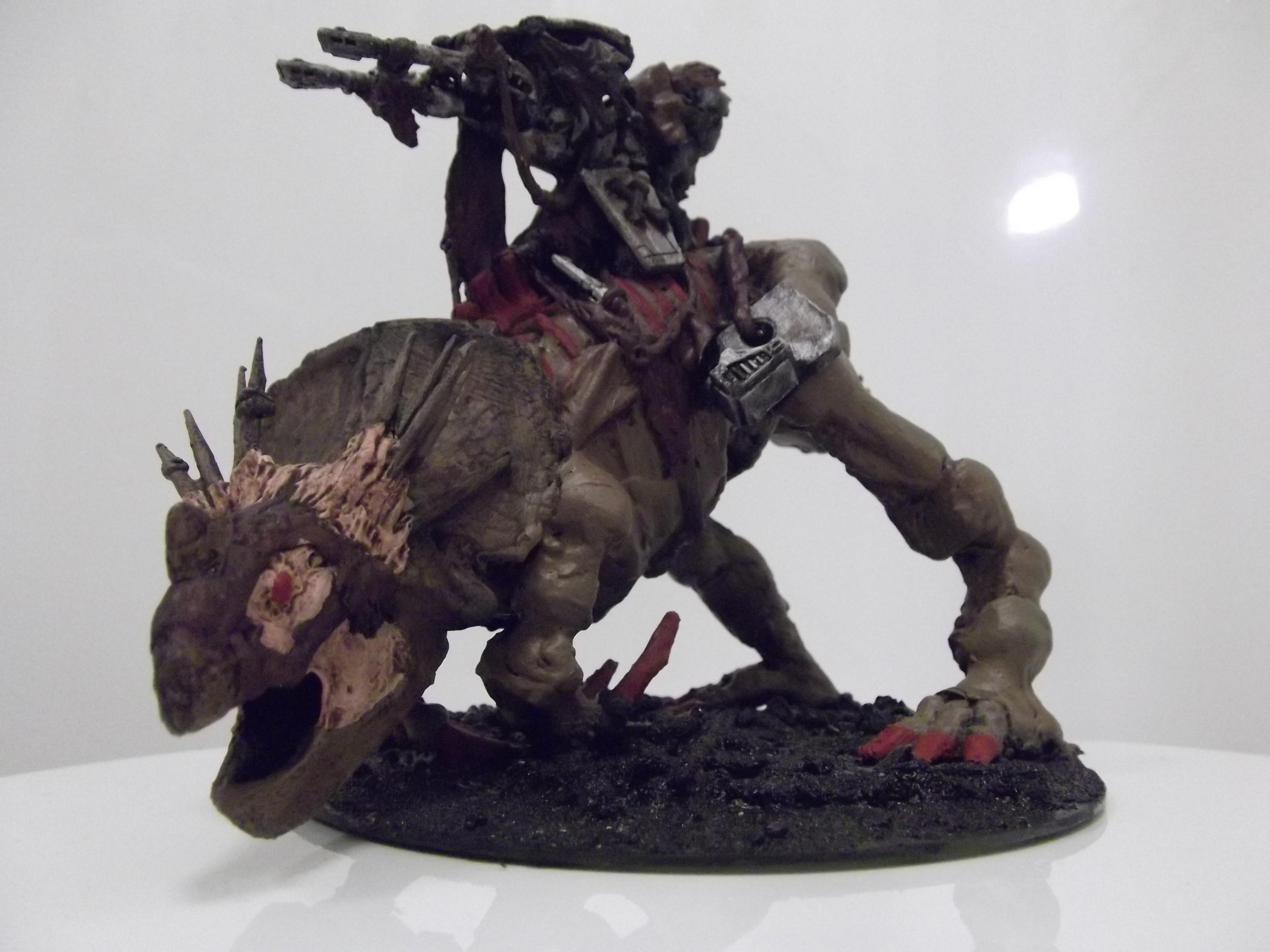 Conversion, Greater Knarloc, Knarloc, Kroot, Scratch Build, Sculpting