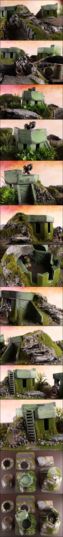 Bunker, Jungle, Terrain