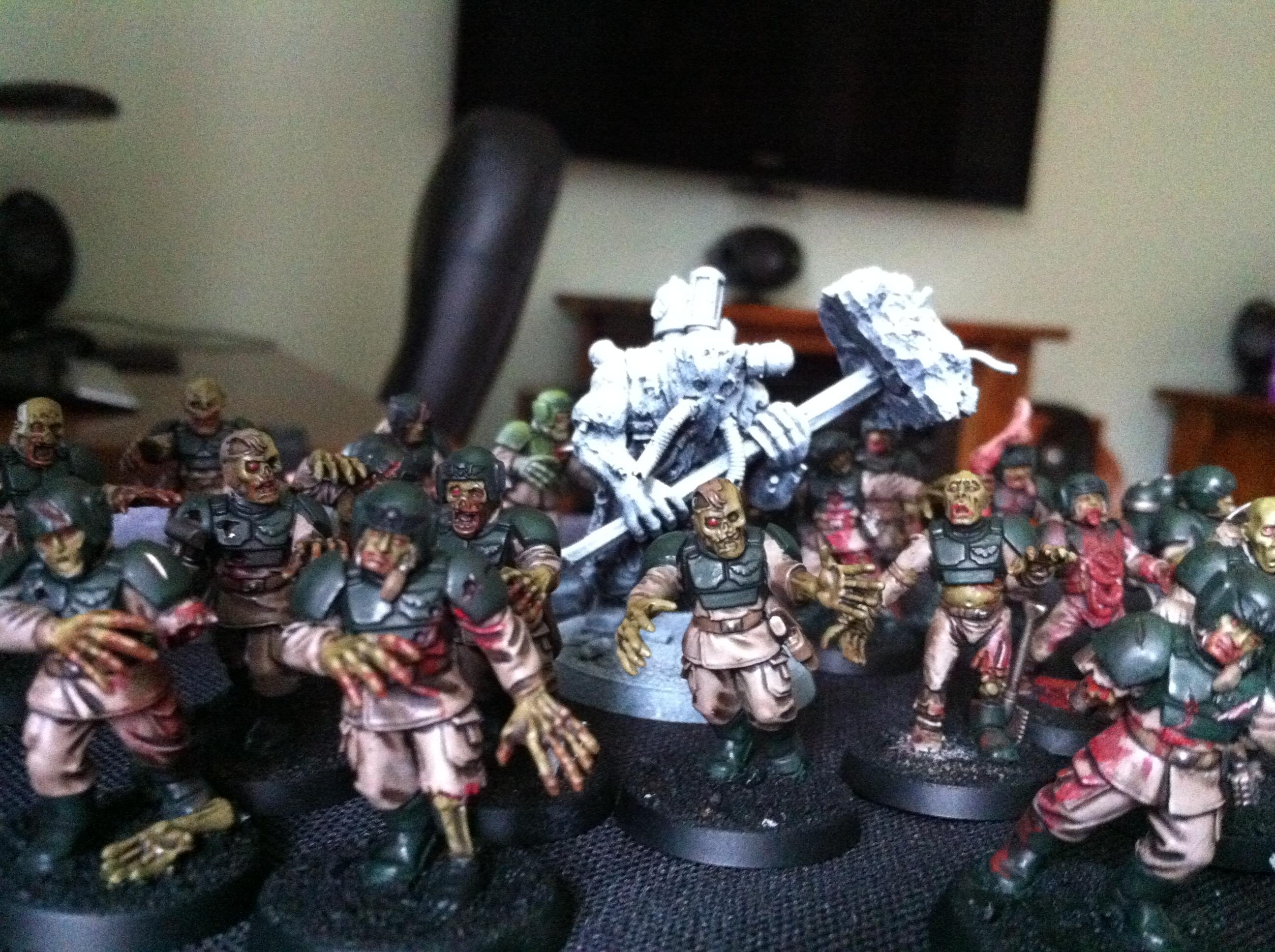 Cadians, Ogryns, Warhammer 40,000, Zombie