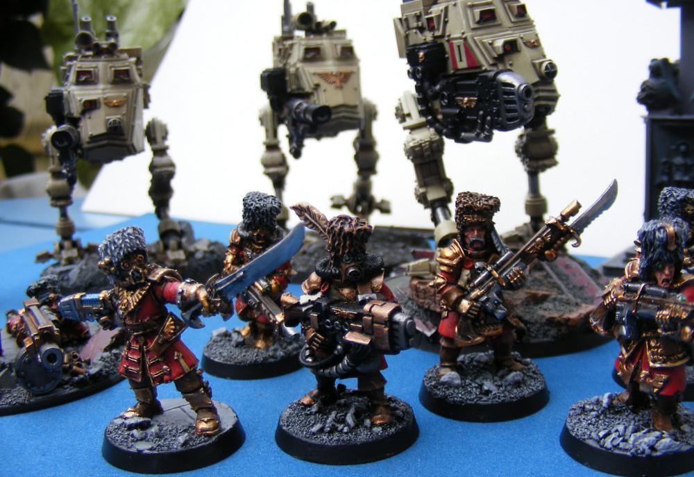 Imperial Guard, Sentinel, Vostroyans, Warhammer 40,000