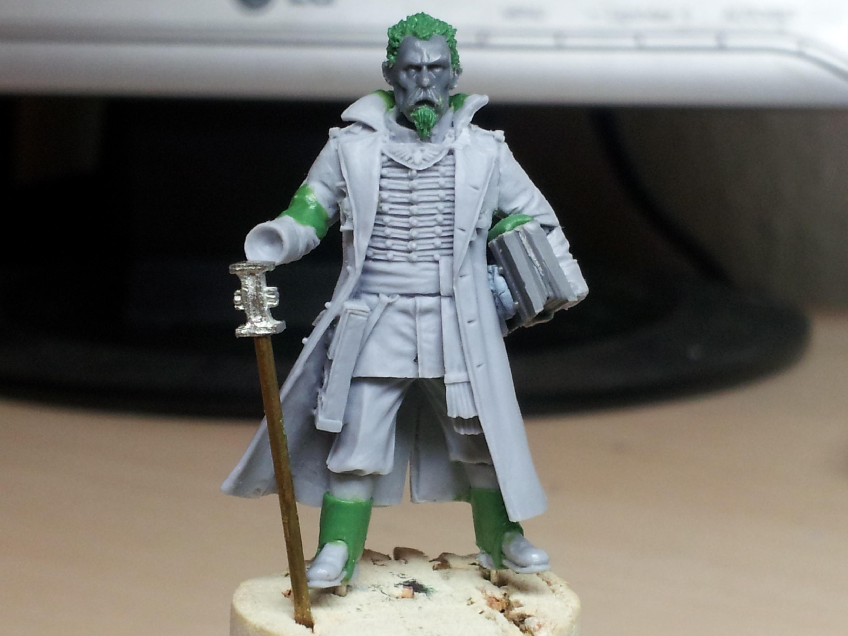 Death Korps of Krieg, Greatcoat, Inquisitor