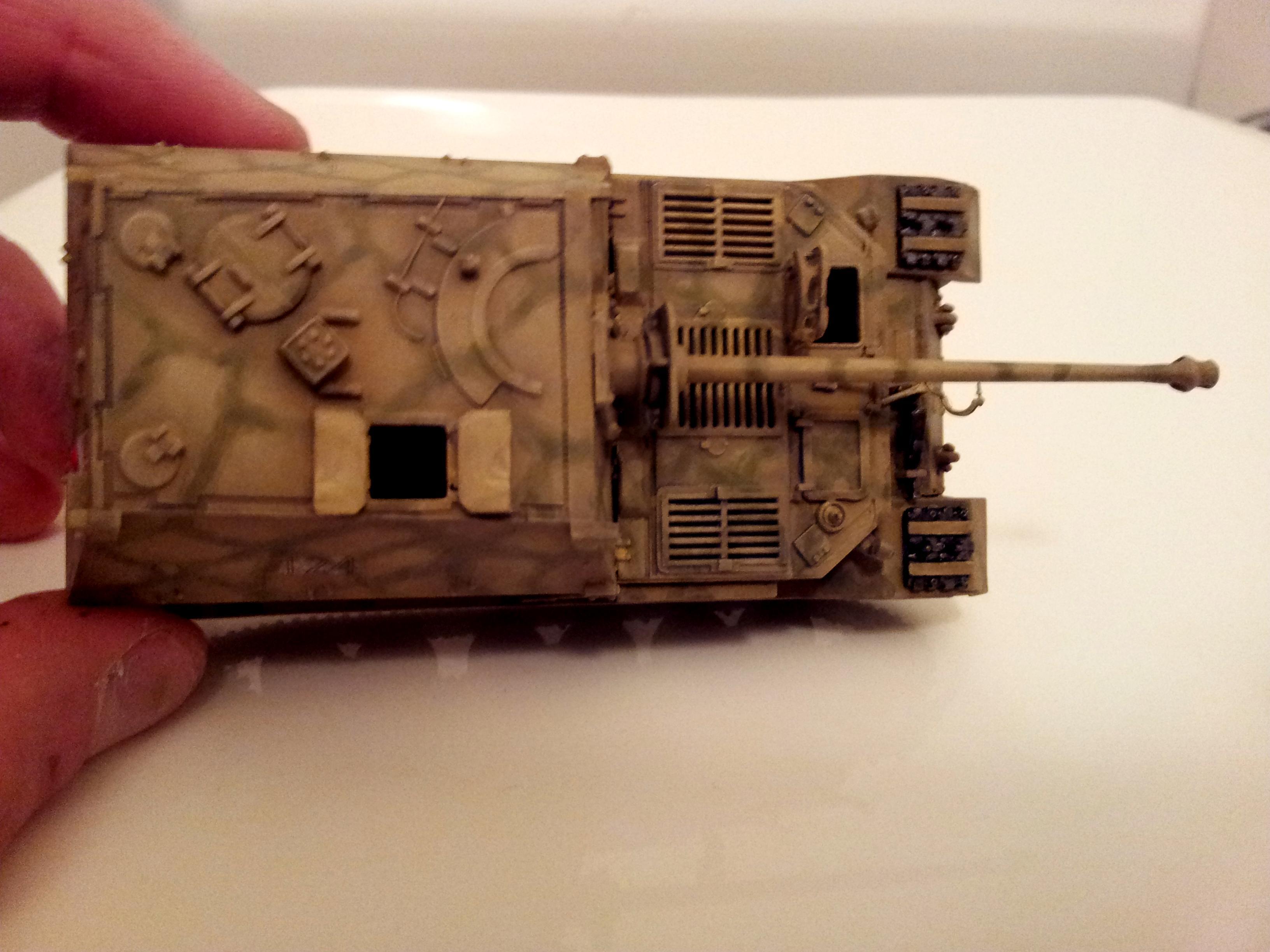 1/72, Braille, Camouflage, Elefant, Ferdinand, Germans, Panzerjager, Tank, Tank Hunter, Tiger, World War 2