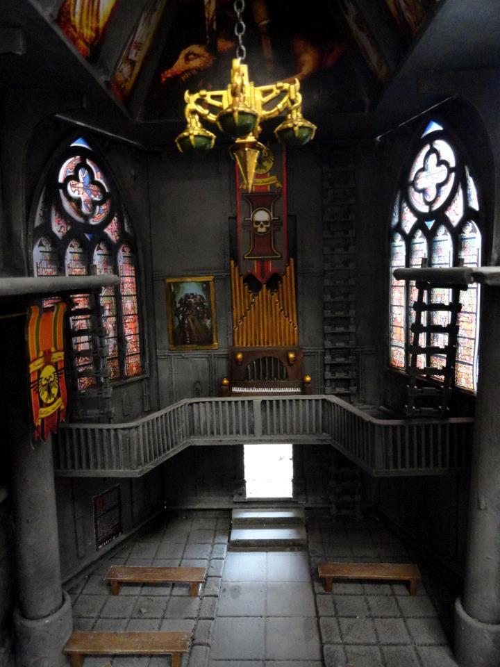 Cathedral, Church, Temple, Terrain, Warhammer 40,000