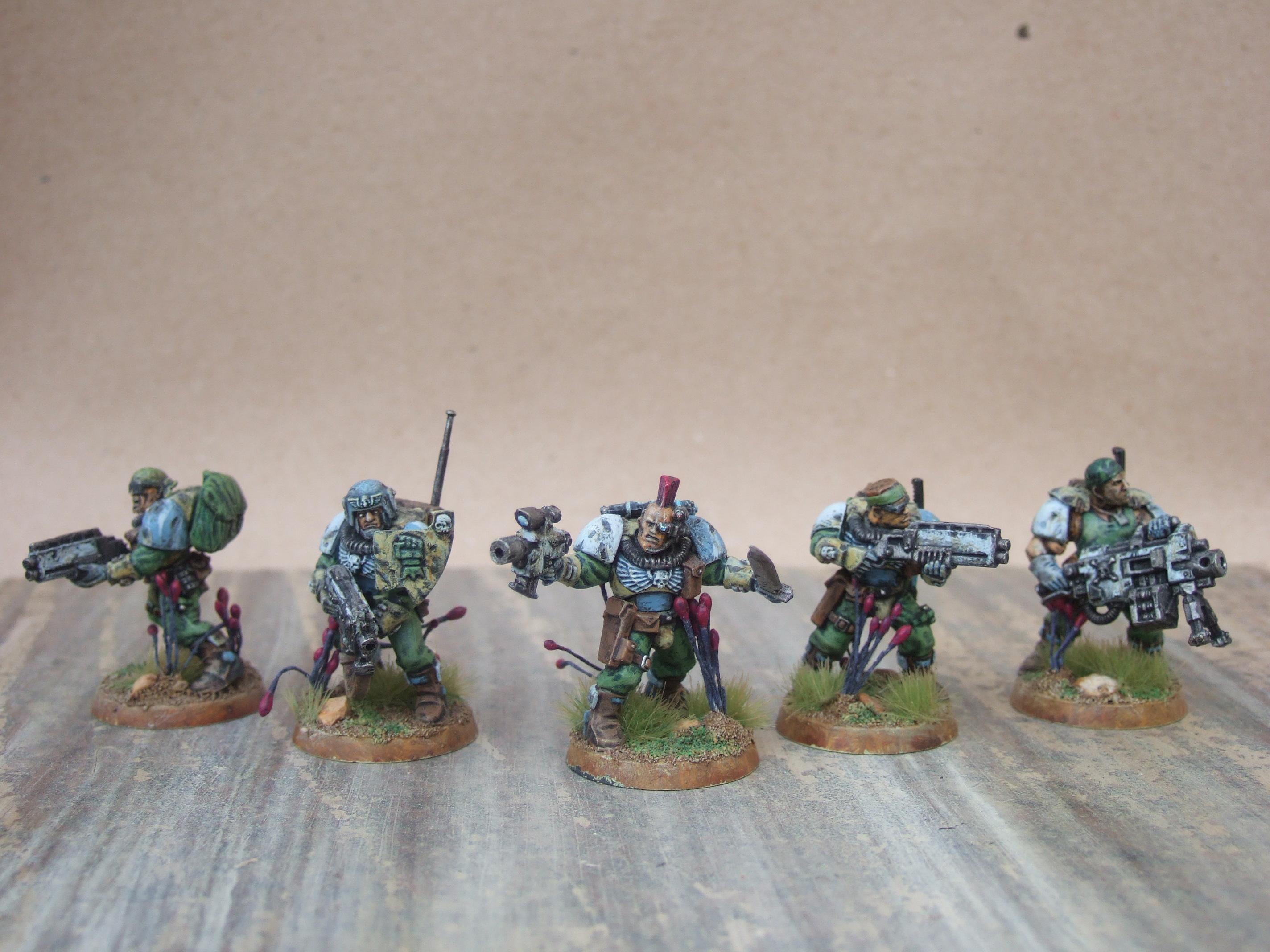 Space Marine Scouts, Camo Scout Squad
