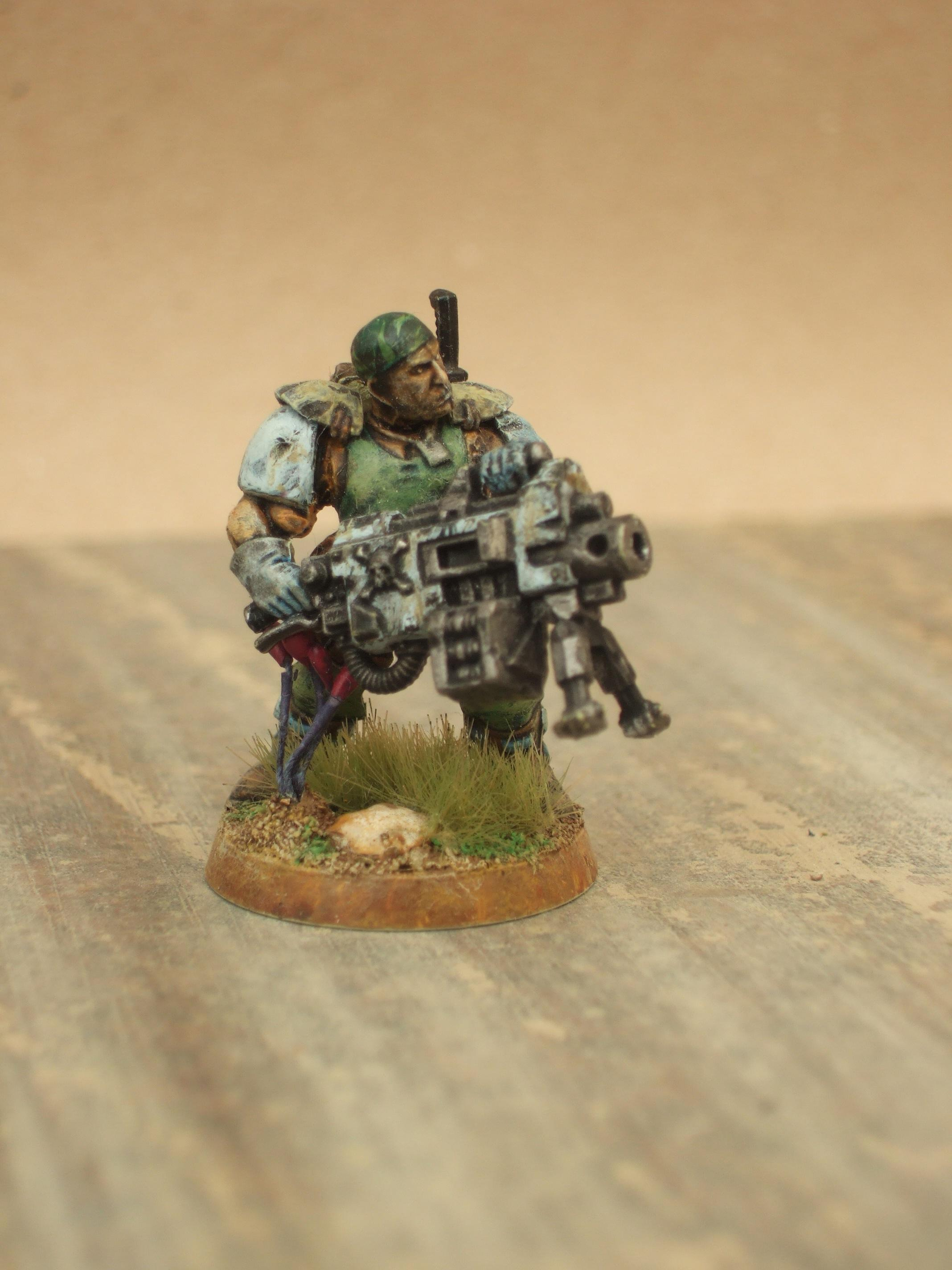 Conversion, Space Marine Scout