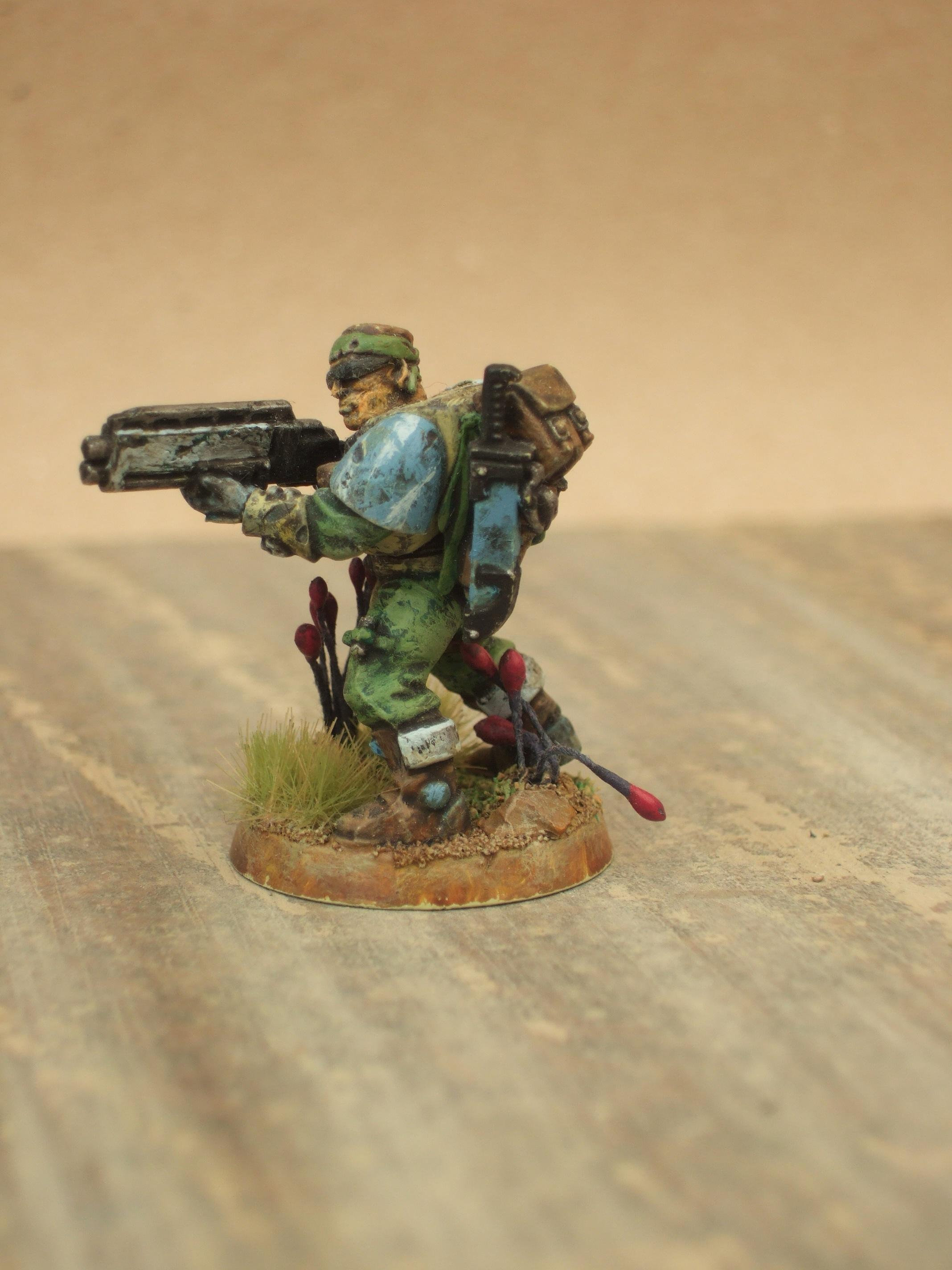 Space Marine Scout, Camo Scout