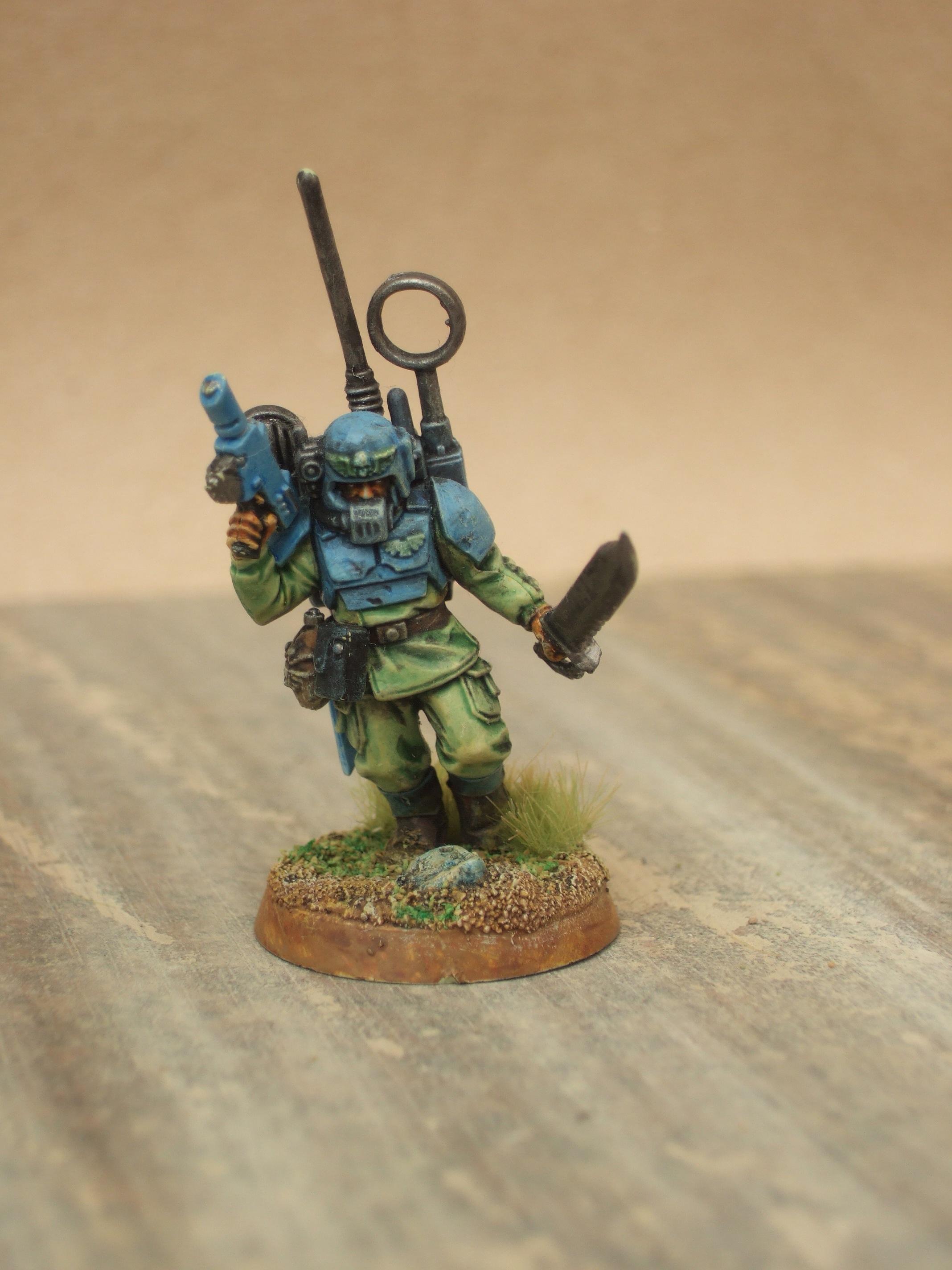 Astra Militarum, Cadians, Imperial Guard, Vox Caster, Warhammer 40,000