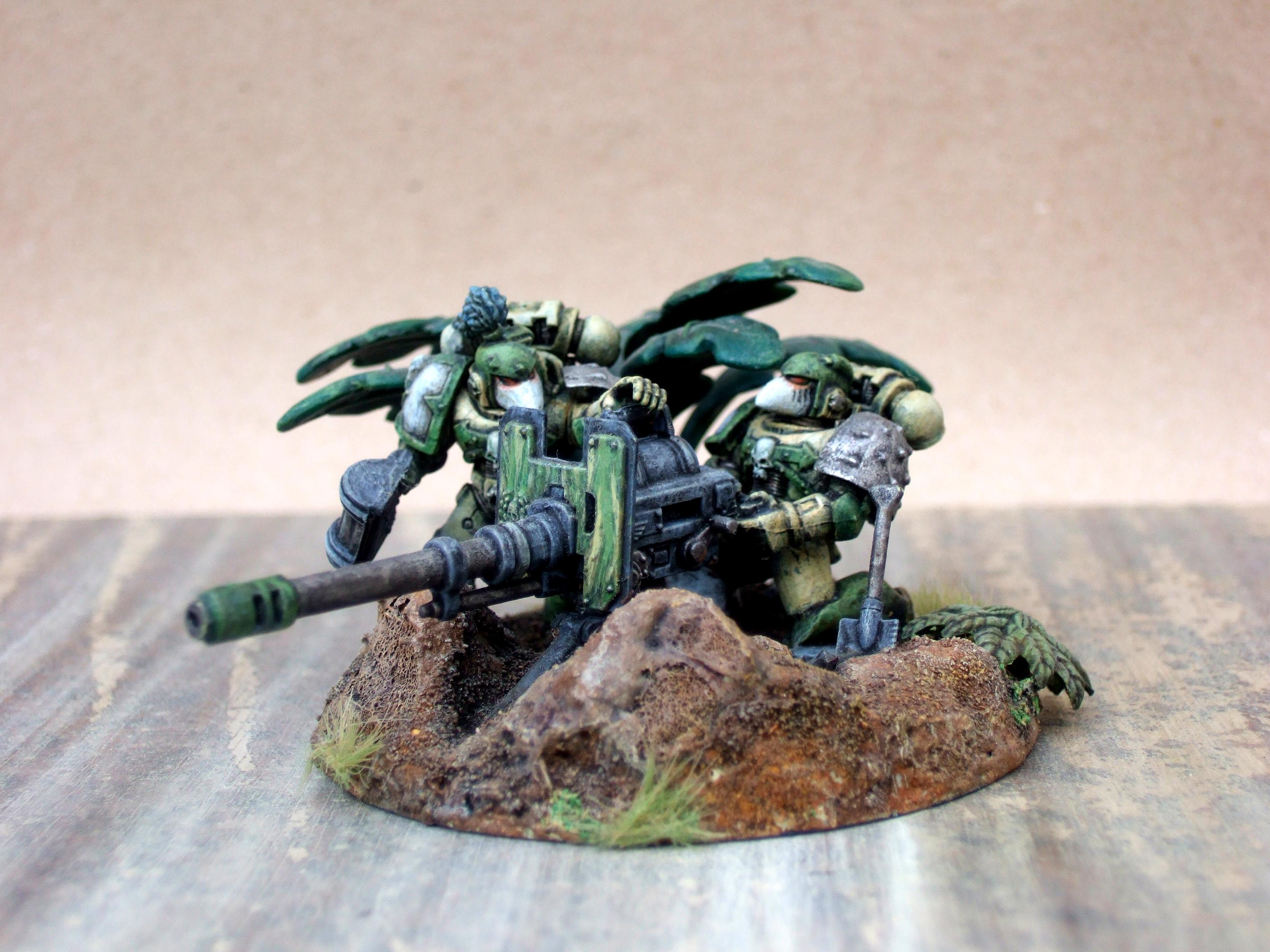 Chaos Space Marines, Heavy Artillery, Space Marines