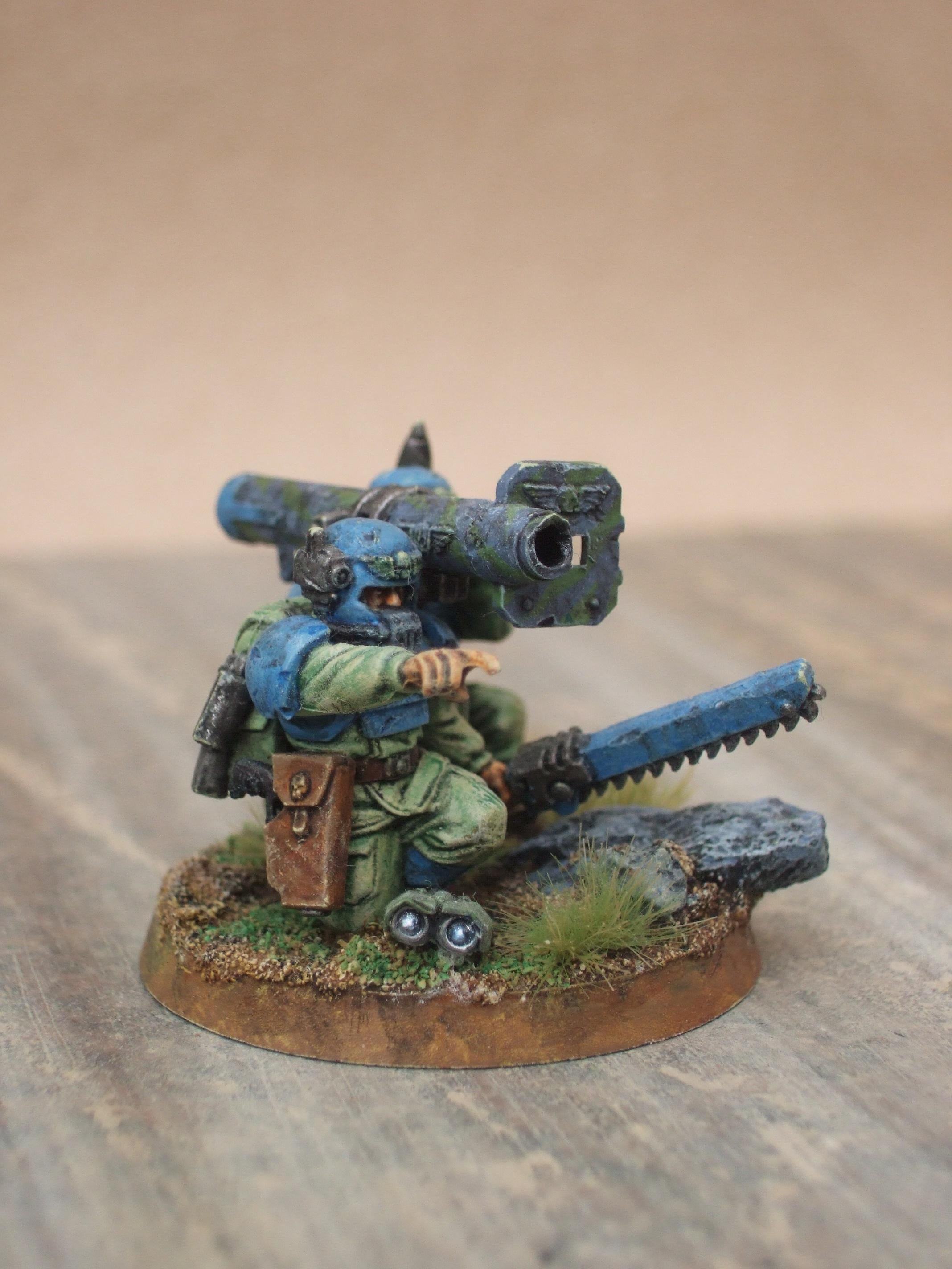 Bazooka, Cadians, Imperial