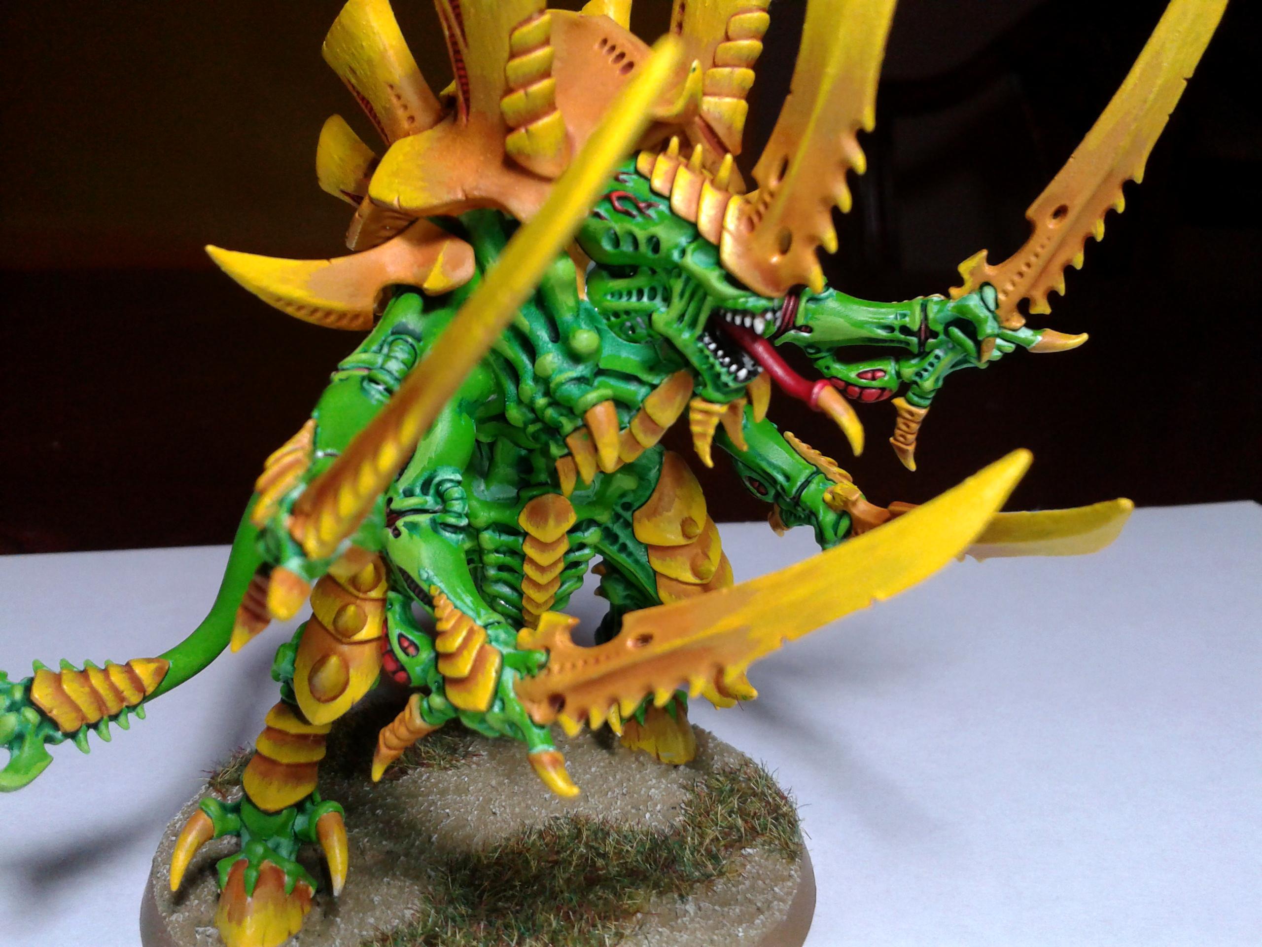 Green, Swarmlord, Tty, Tyranids, Yellow