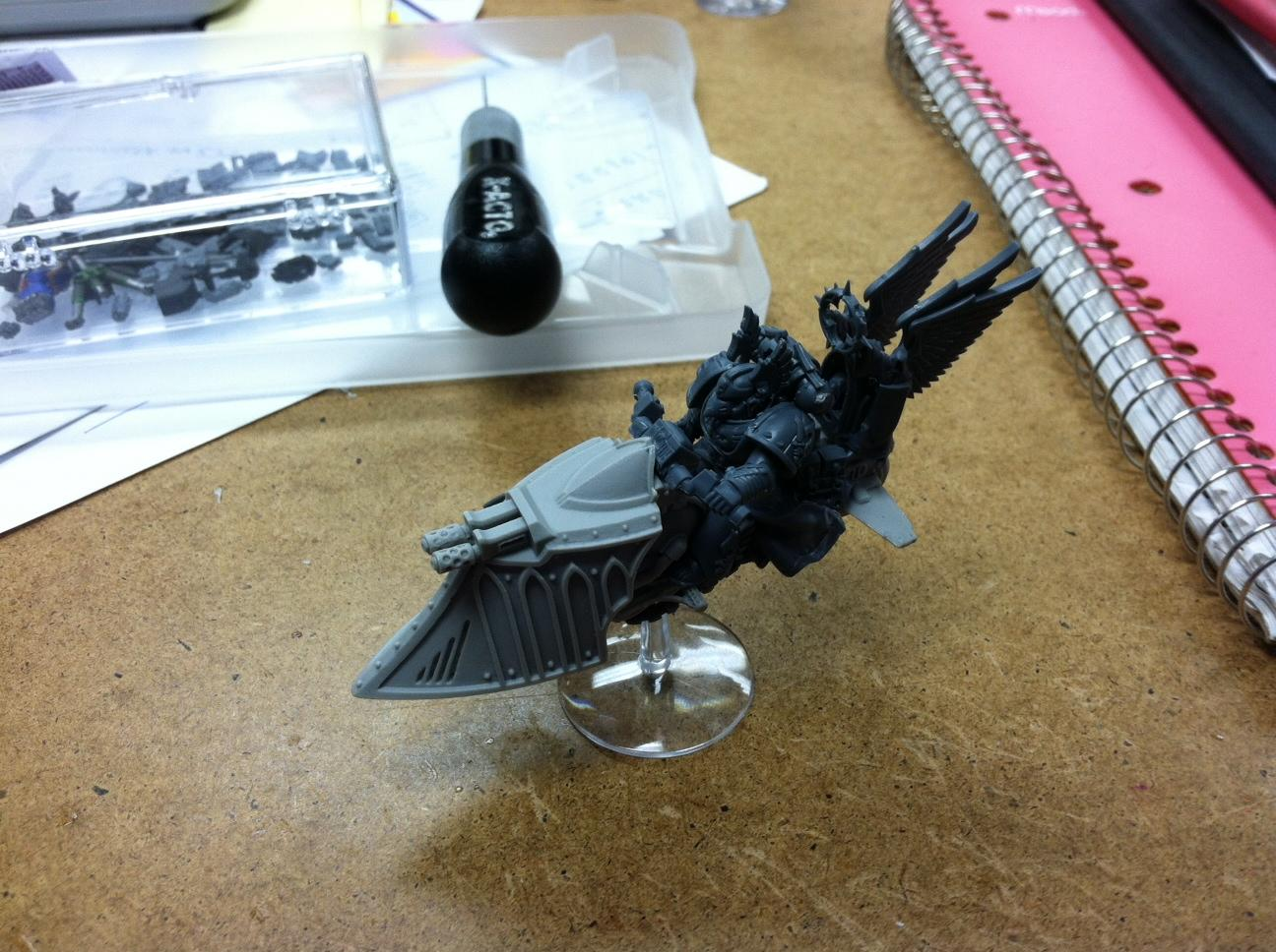 Conversion, Counts As, Dark Angels, Gothic, Jetbike, Maxmini, Sammael