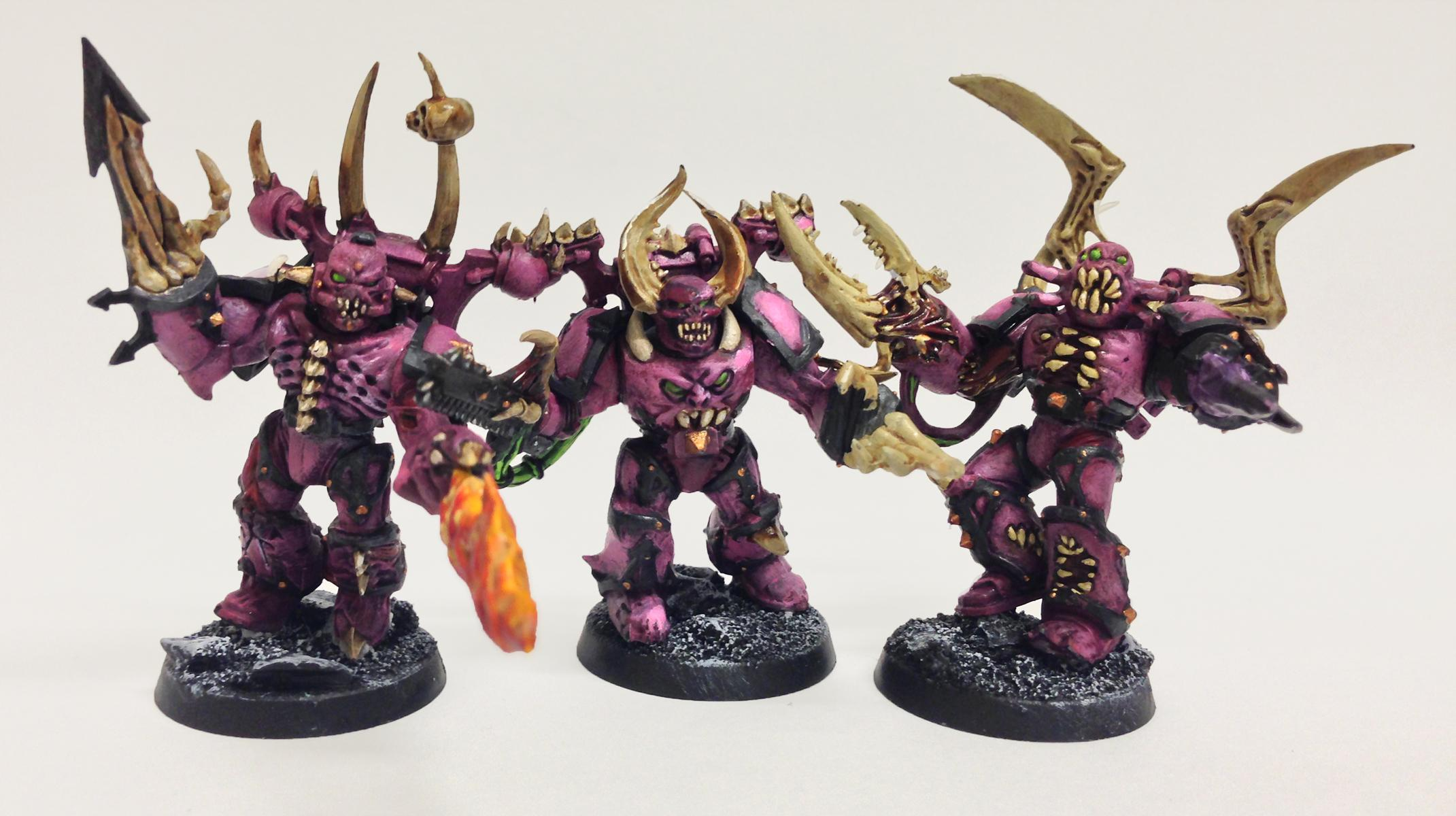 Bones, Emperor's Children, Eyes, Fire, Mouth, Possessed, Possessed Chaos Space Marines