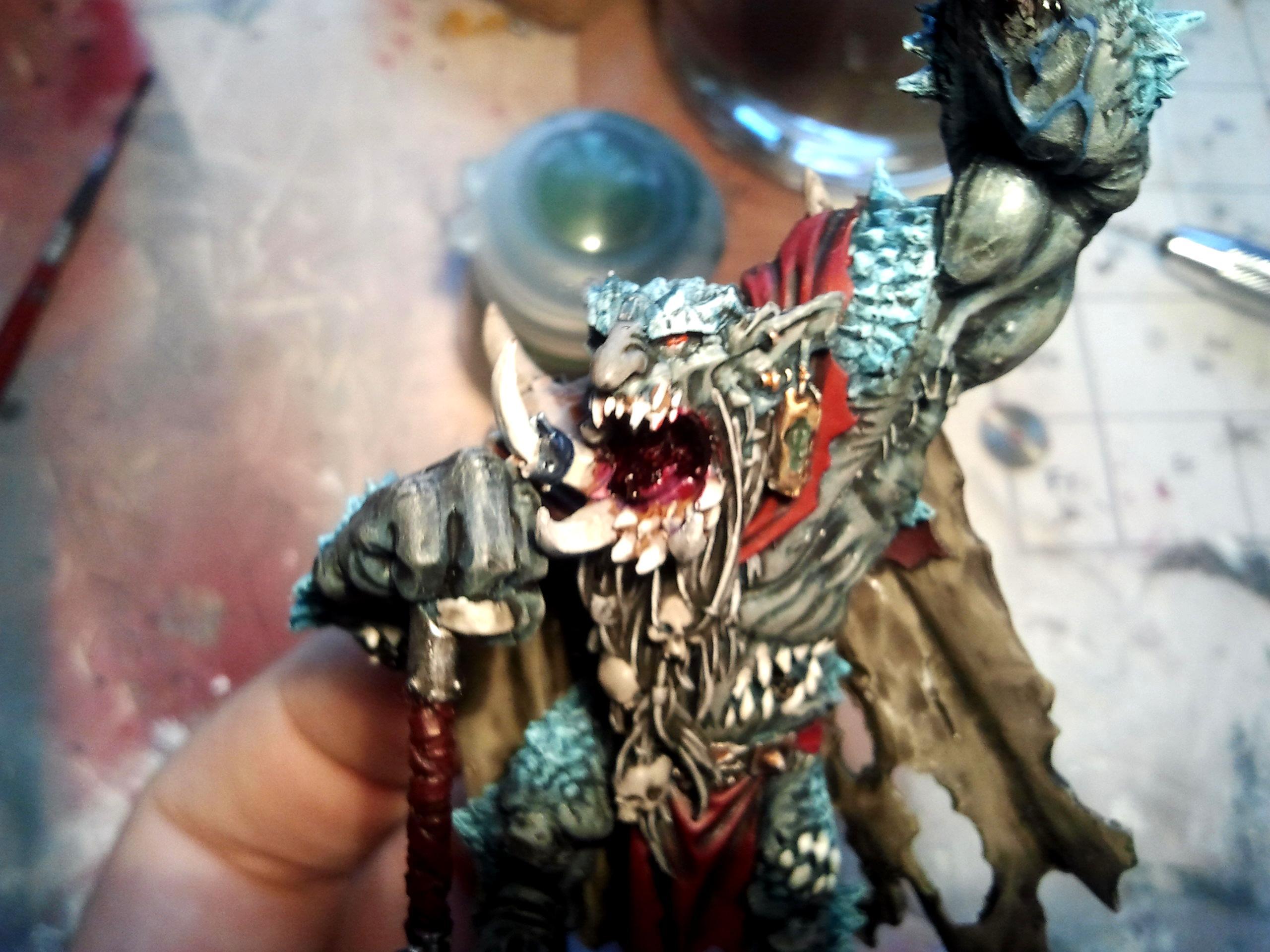 Chaos, Throgg, Troll, Warp