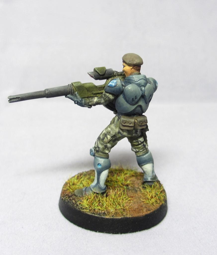 Fusilier, Infinity, Panoceania, Snipers