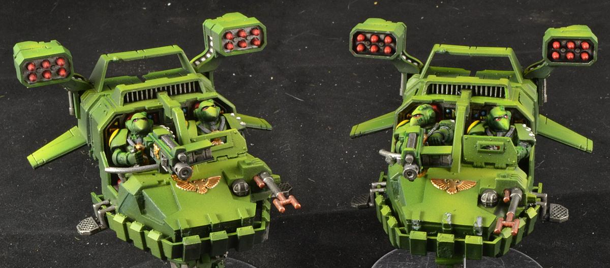 Land Speeder Typhoon, Mantis Warriors, Space Marines, Warhammer 40,000, Work In Progress