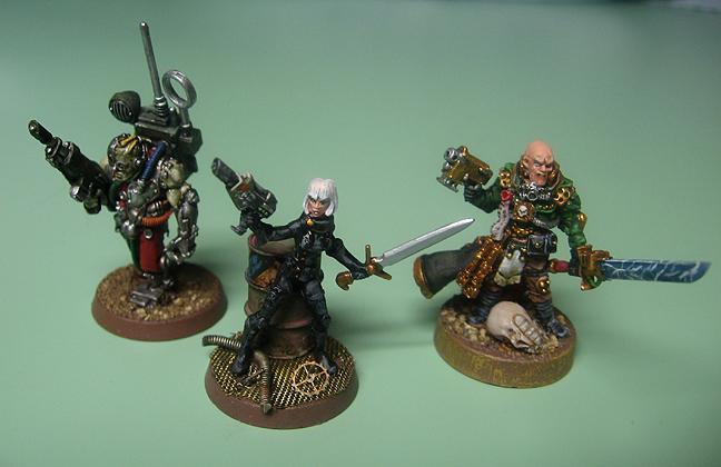 Female, Henchmen, Inquisition, Inquisitor, Servitors
