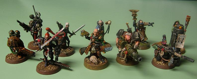 Henchmen, Inquisition, Warband