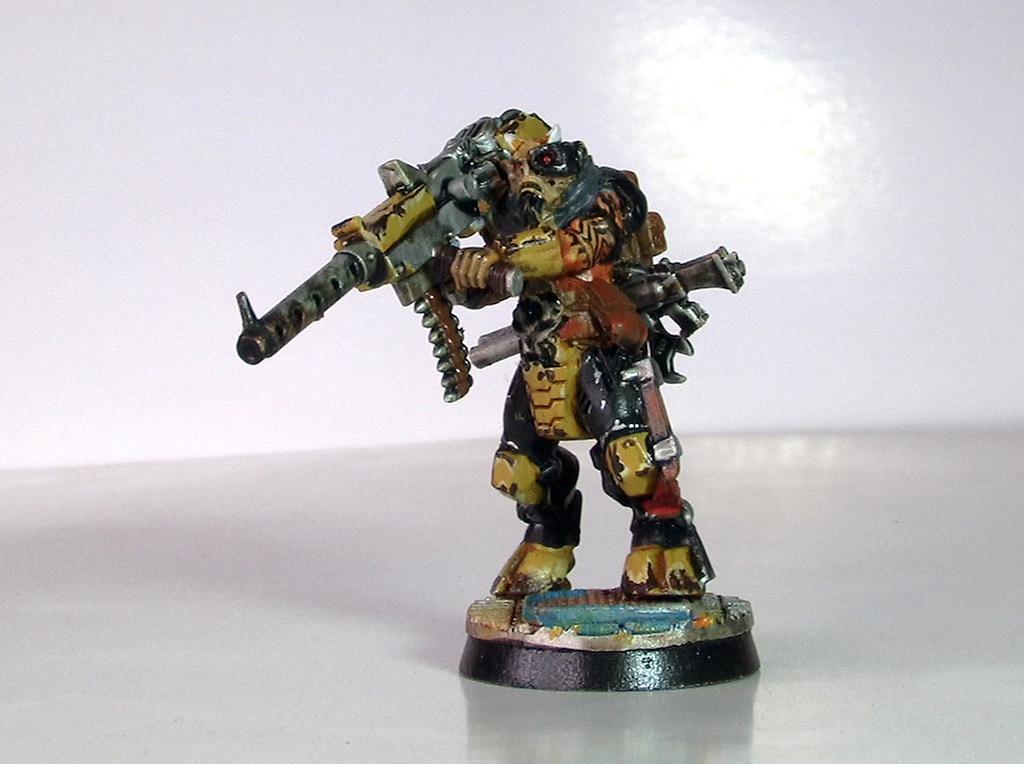Beast, Beastmen, Gang, Ganger, Heavy, Juvies, Leader, Mercenary, Metal, Necromunda, Shotgun, Ungor, Ungrol, Warhammer 40,000