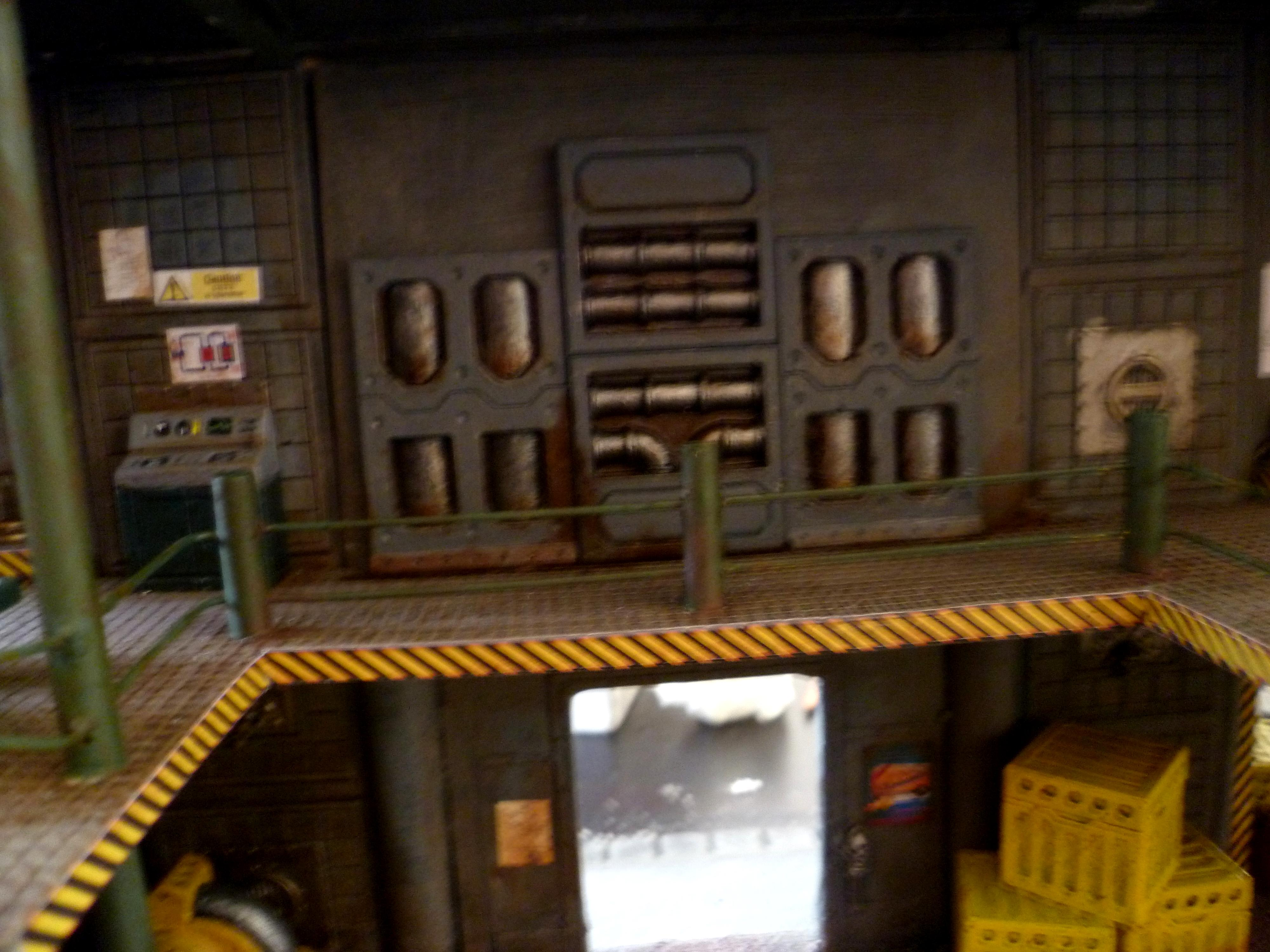 Boxes, Buildings, Cities Of Death, City, Crates, Finished, Floor, Flooring, Floors, Interior, Painted, Panels, Pipe, Pipes, Terrain, Wall, Walls