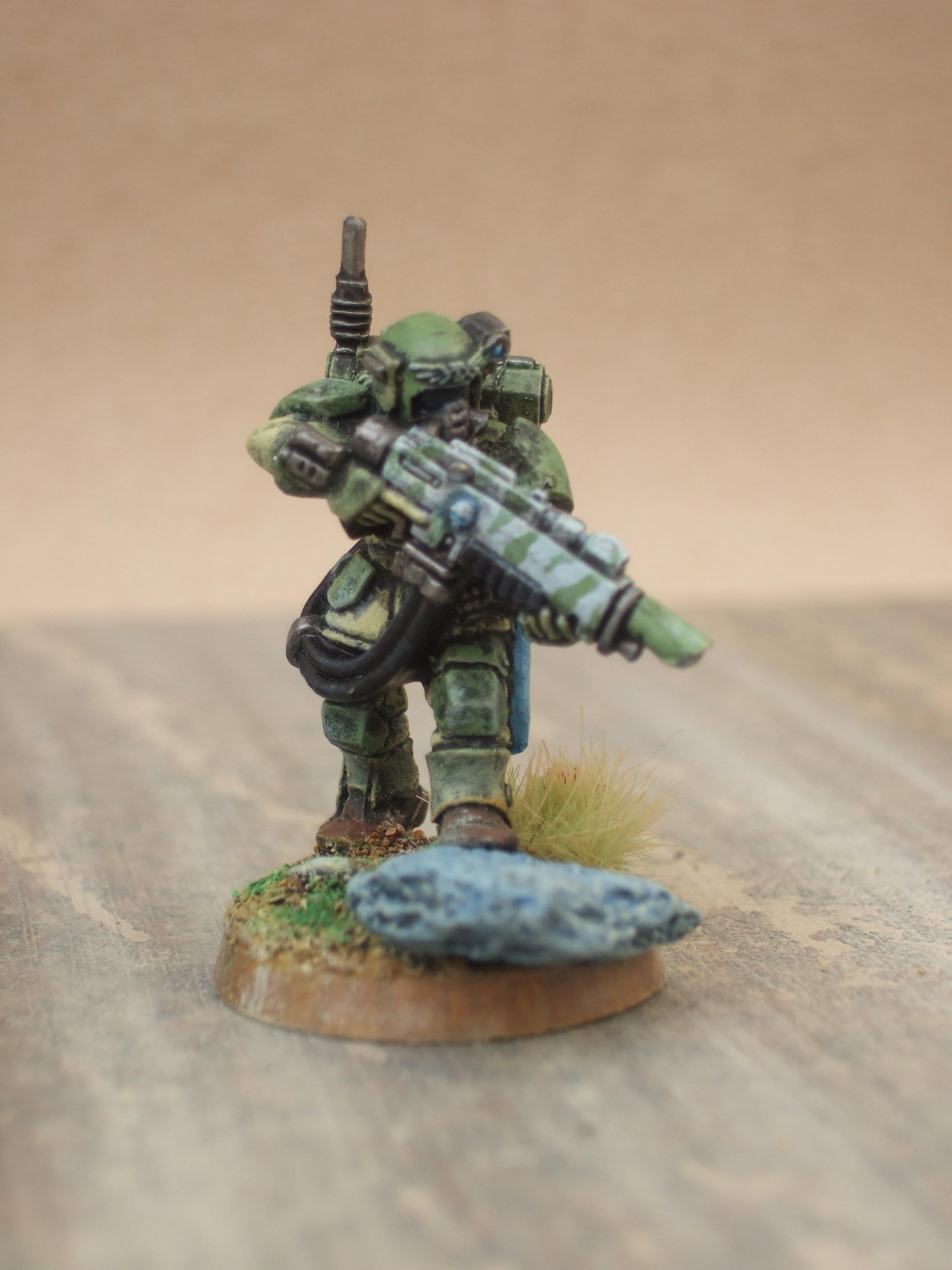 Imperial Guard, easy now!
