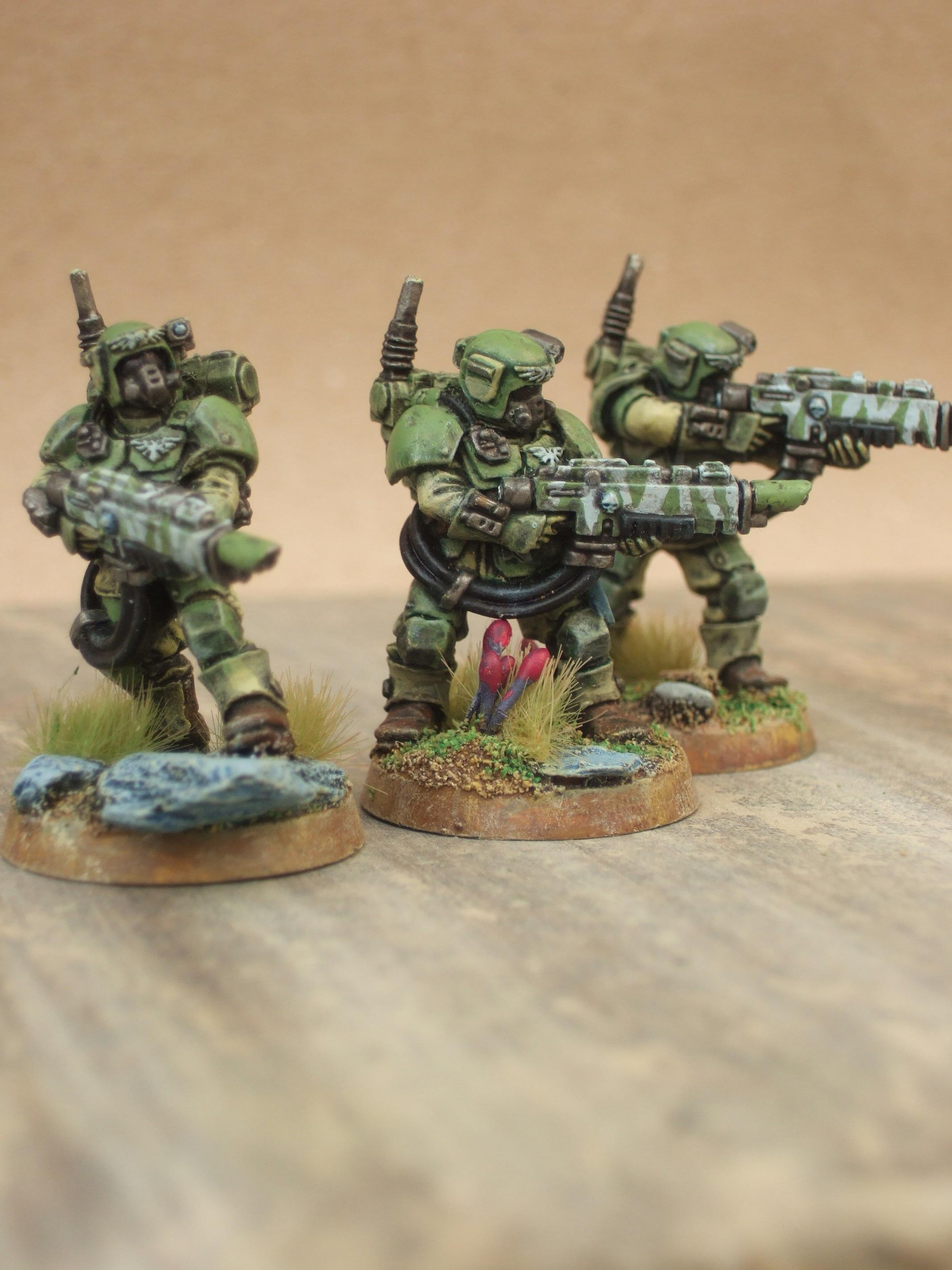 Imperial Guard, threes a crowd