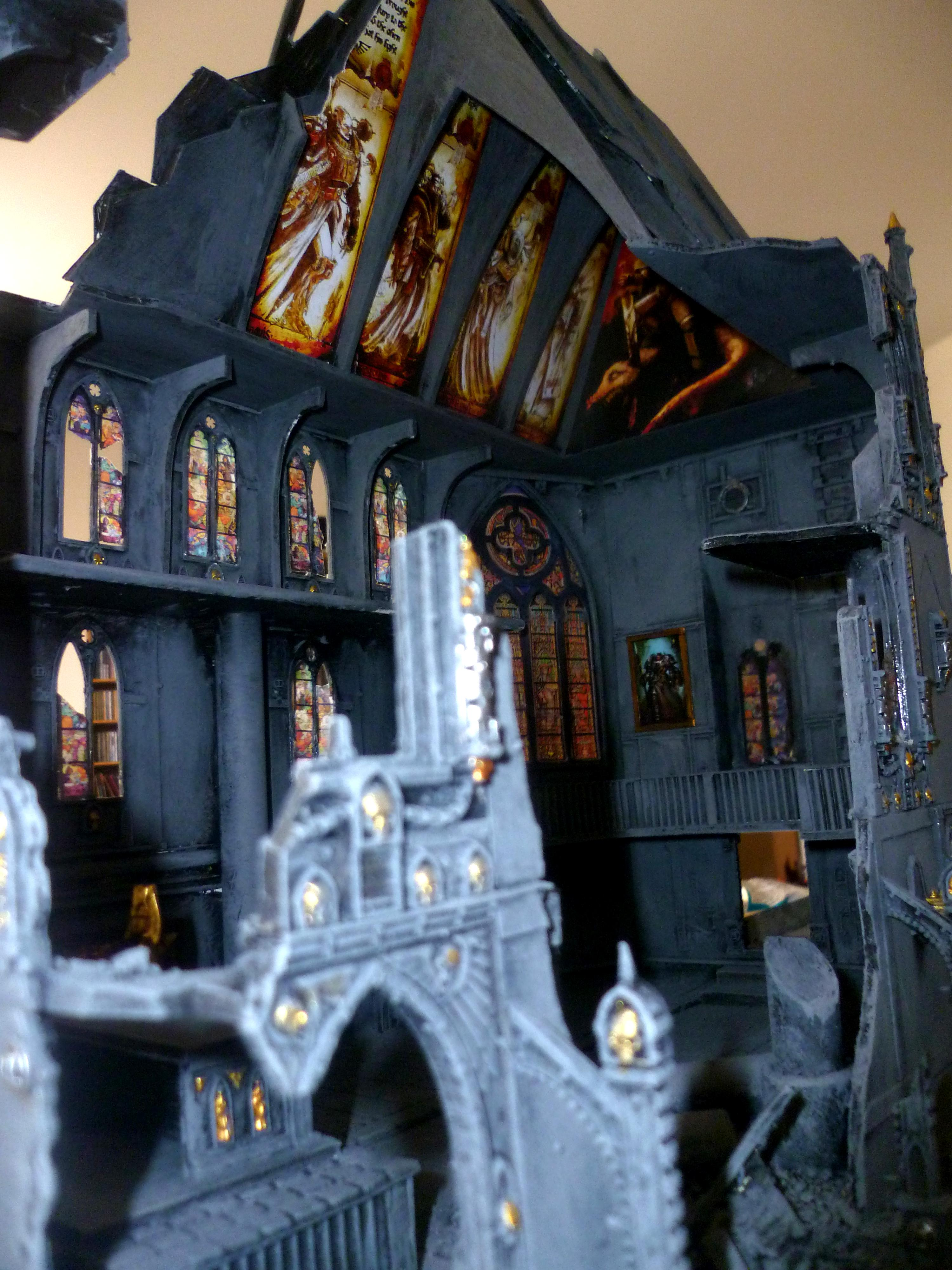 Murals, Ruins, Stained Glass, Terrain