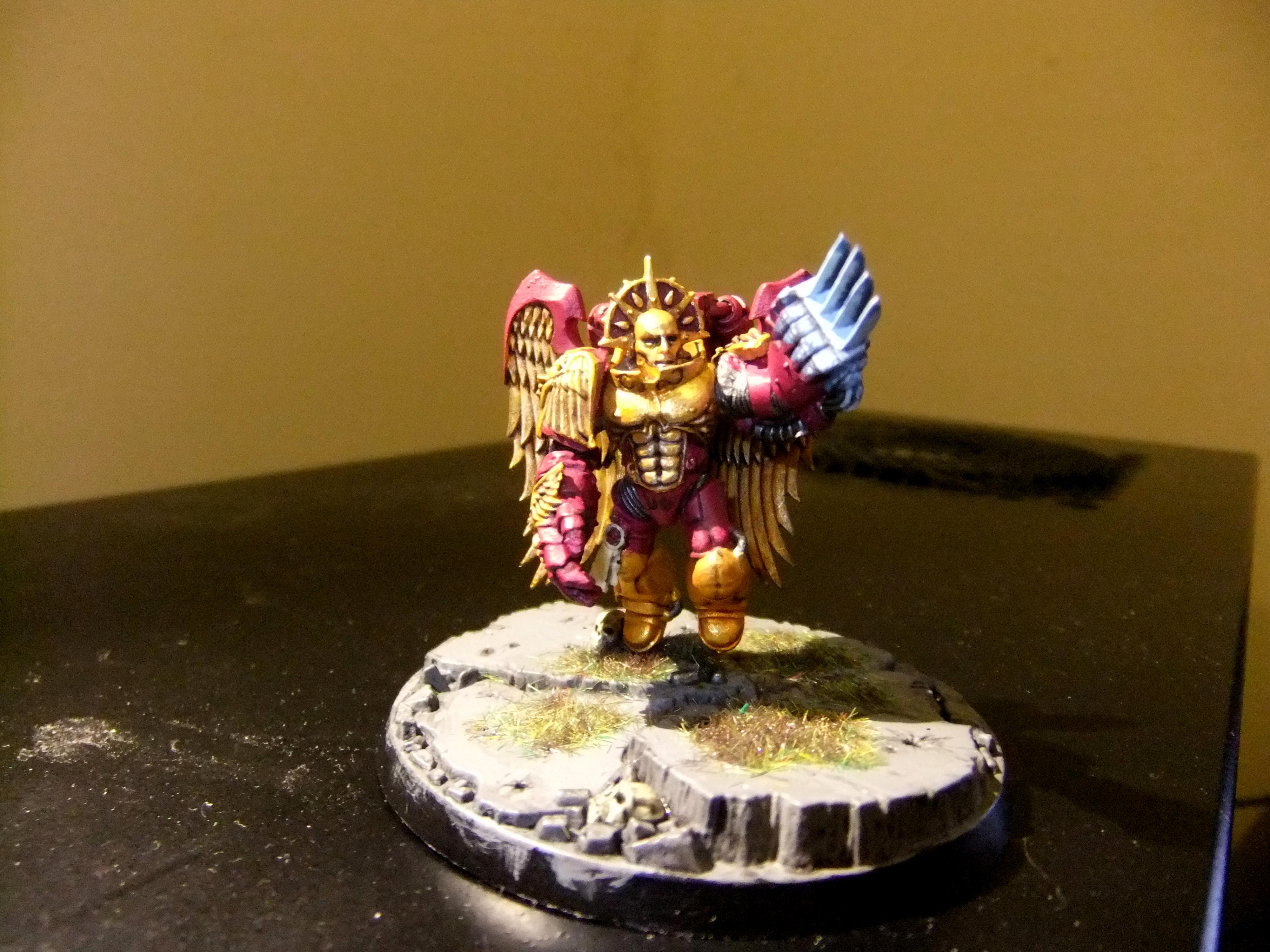 Conversion, Emperor's Children, Sanguinary Guard, Space Marines