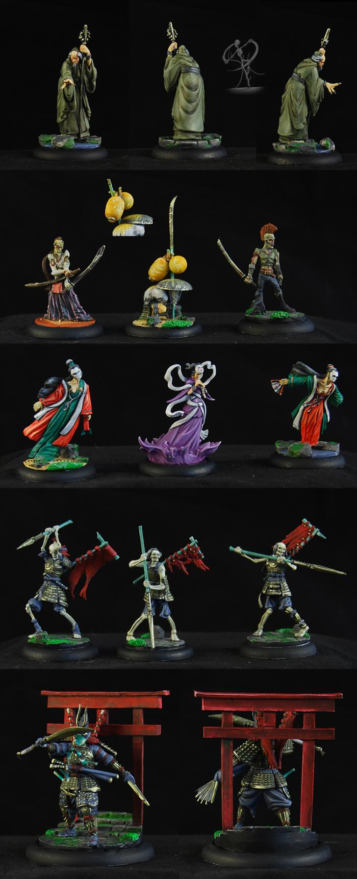 Malifaux, Resurrectionists, Ten Thunders, Wyrd, Yan Lo