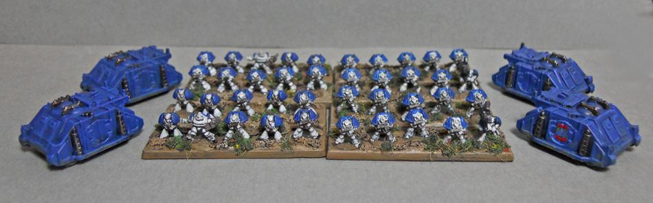 6mm, Epic, Space Marines, World Eaters