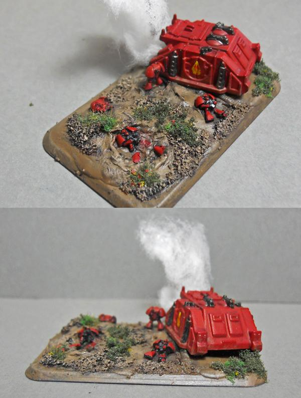 6mm, Blood Angels, Epic, Objective Marker, Space Marines