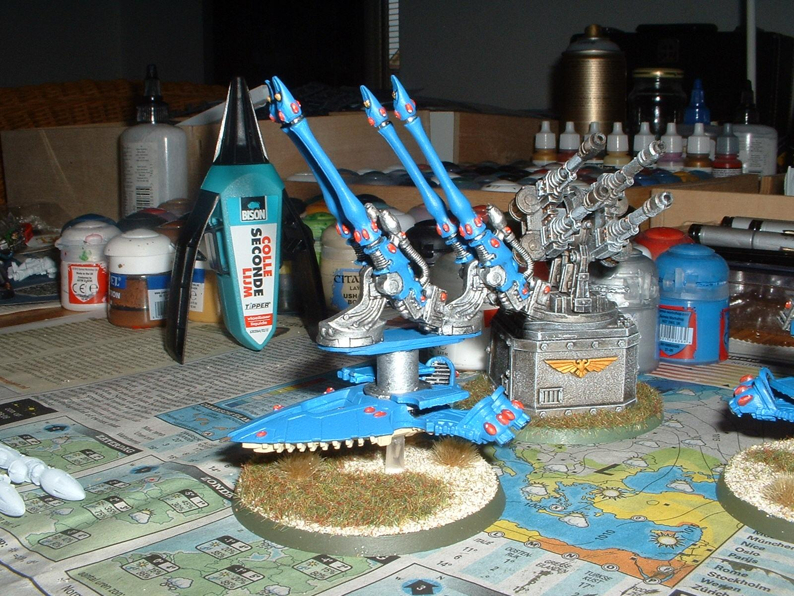 Alaitoc, Conversion, Eldar, Gun Emplacement, Quad-gun
