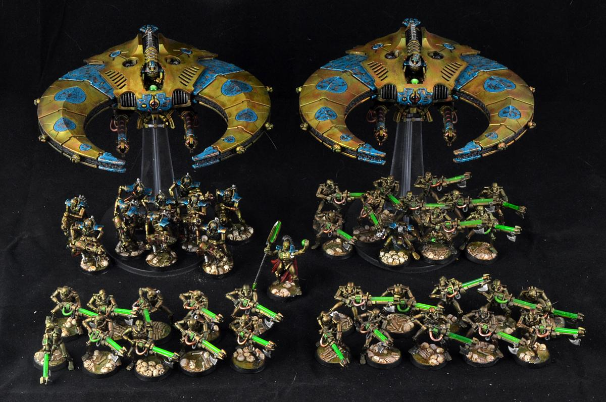 Battle Report, Necrons, Space Marines, Warhammer 40,000