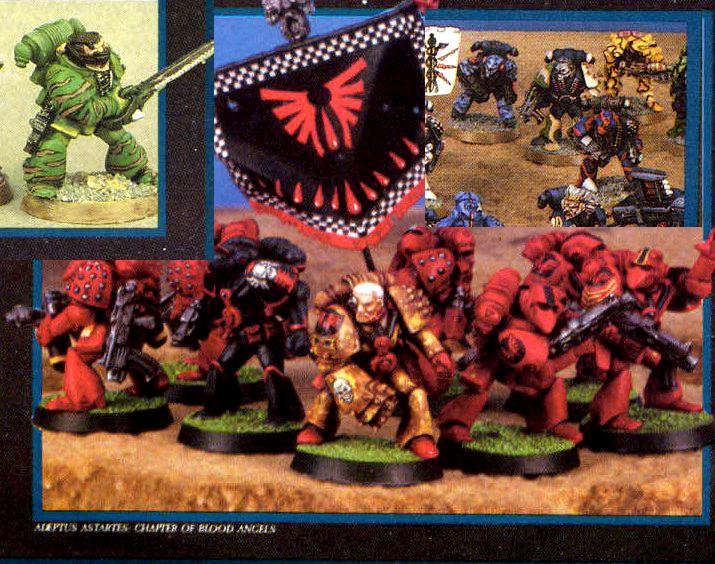 Camouflage, Copyright Games Workshop, Rogue Trader, Space Marines
