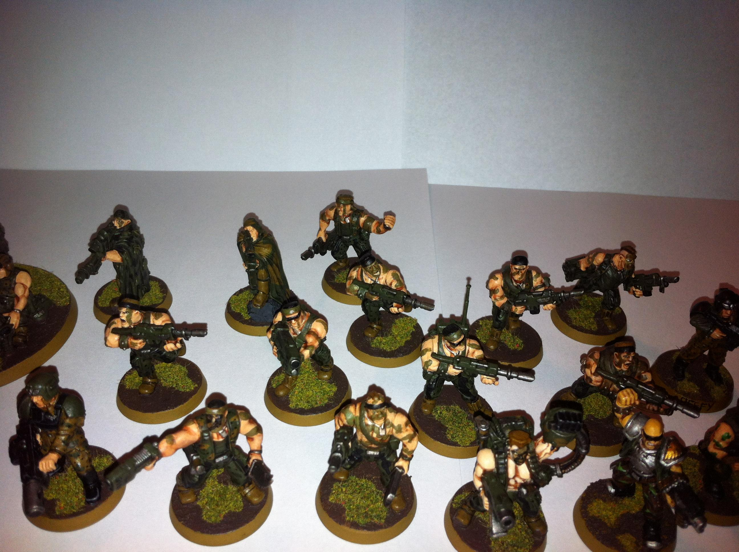 Catachan, Imperial Guard