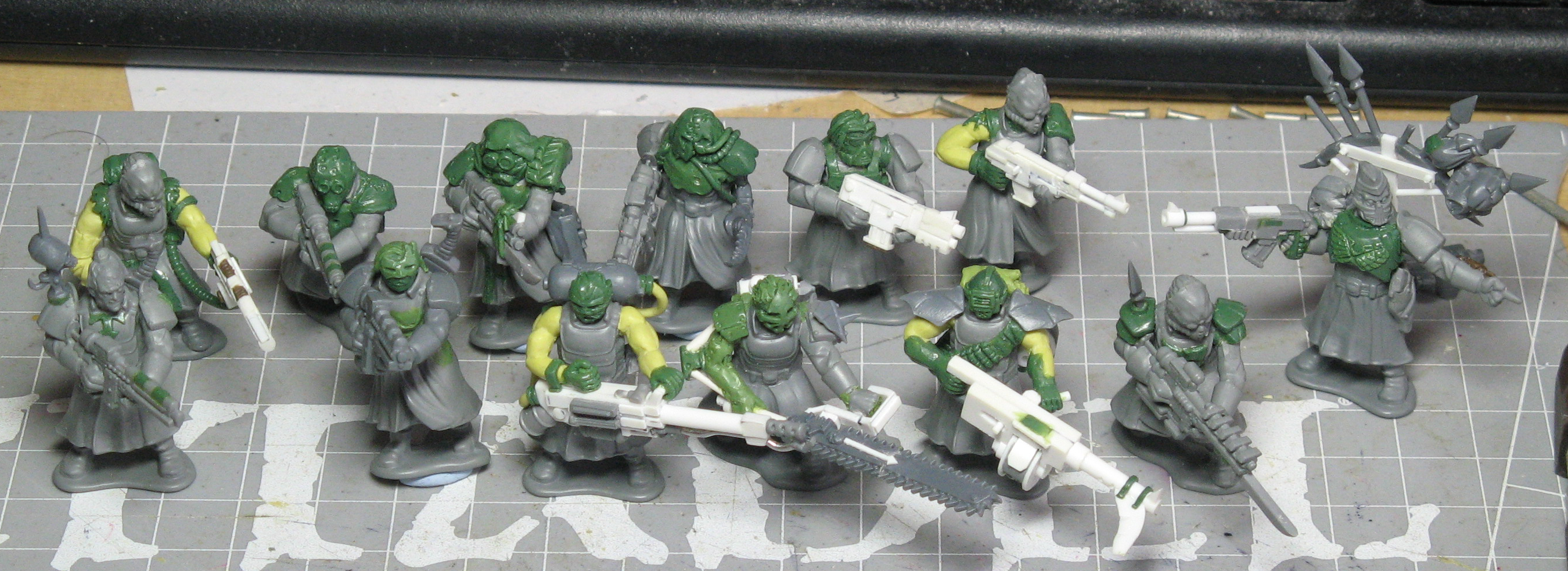 Chaos, Chaos Space Marines, Cultists, Greatcoats, Wargames Factory, Warhammer 40,000