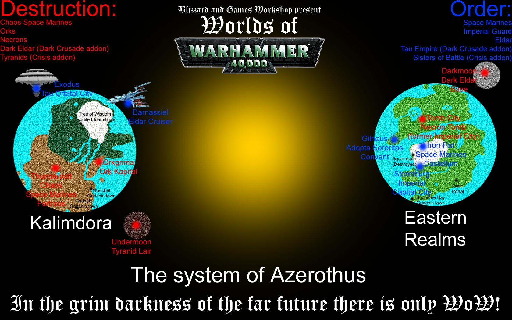 Humor, Warhammer 40,000