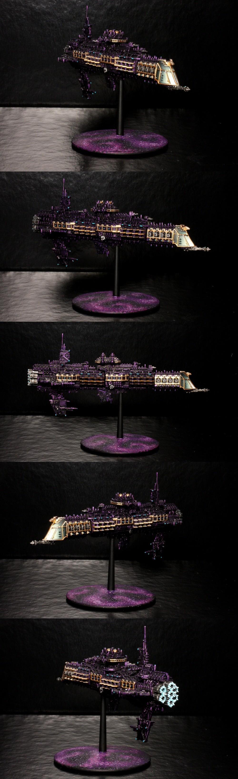 Battlefleet, Emperor, Gothic, Imperial, Navy, Prow, Purple, Wesselstein
