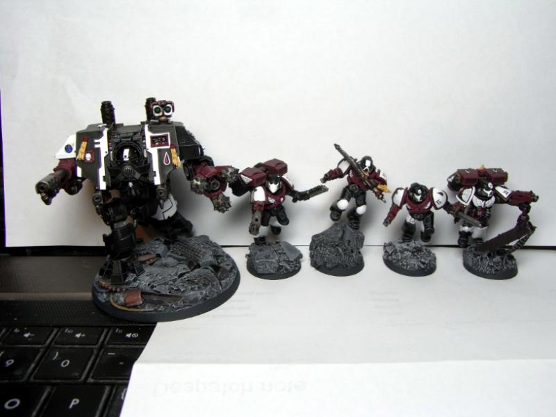 Assault Marines, Dreadnought, Space Marines