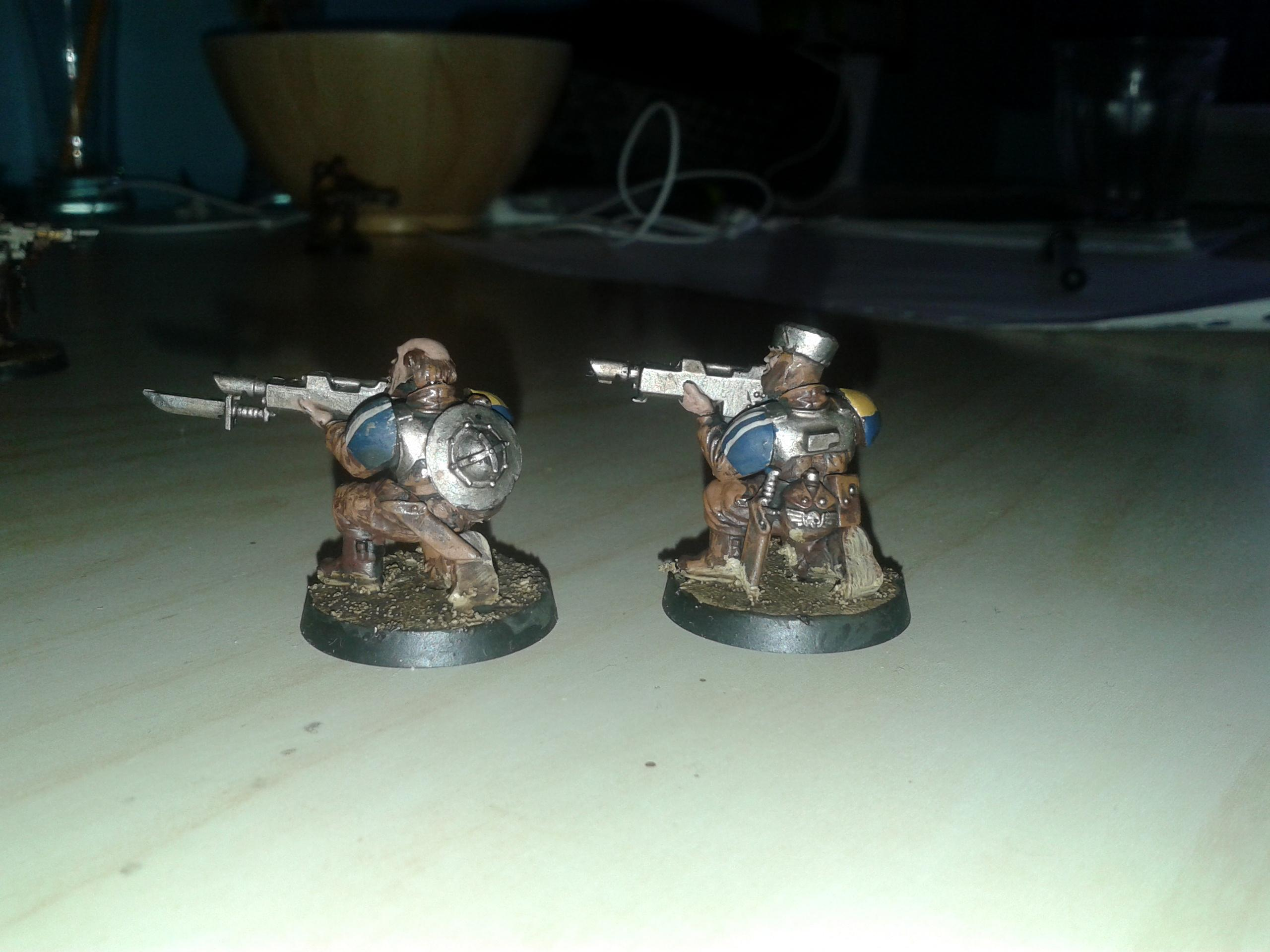 Bretonnians, Brettonians 40k, Imperial Guard, Imperial Guard Conversion