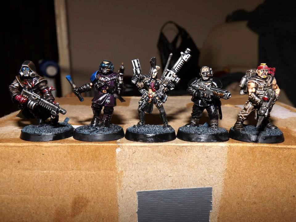 Dark Heresy, Necromunda, Warband