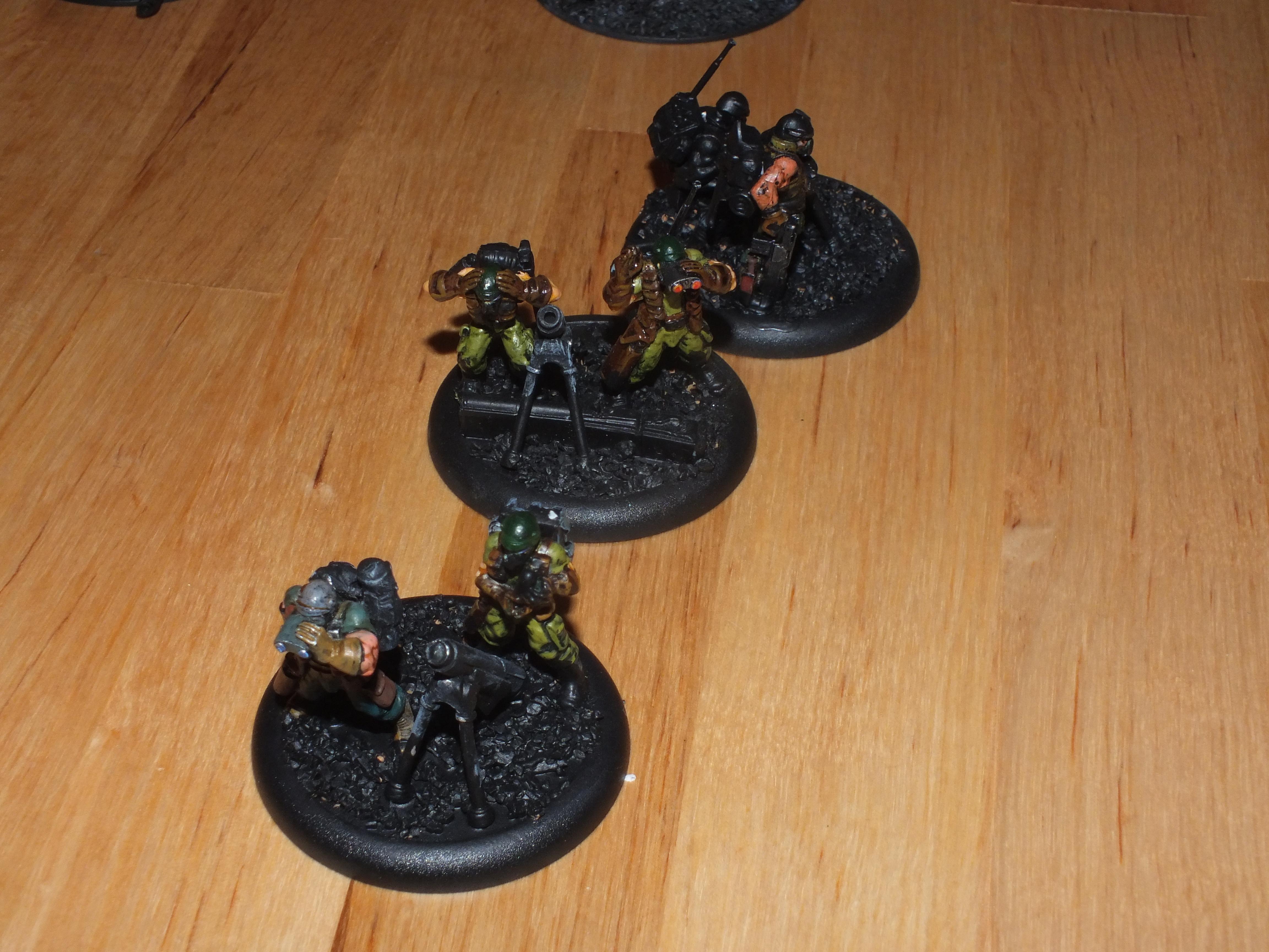 Imperial Guard, Mortars