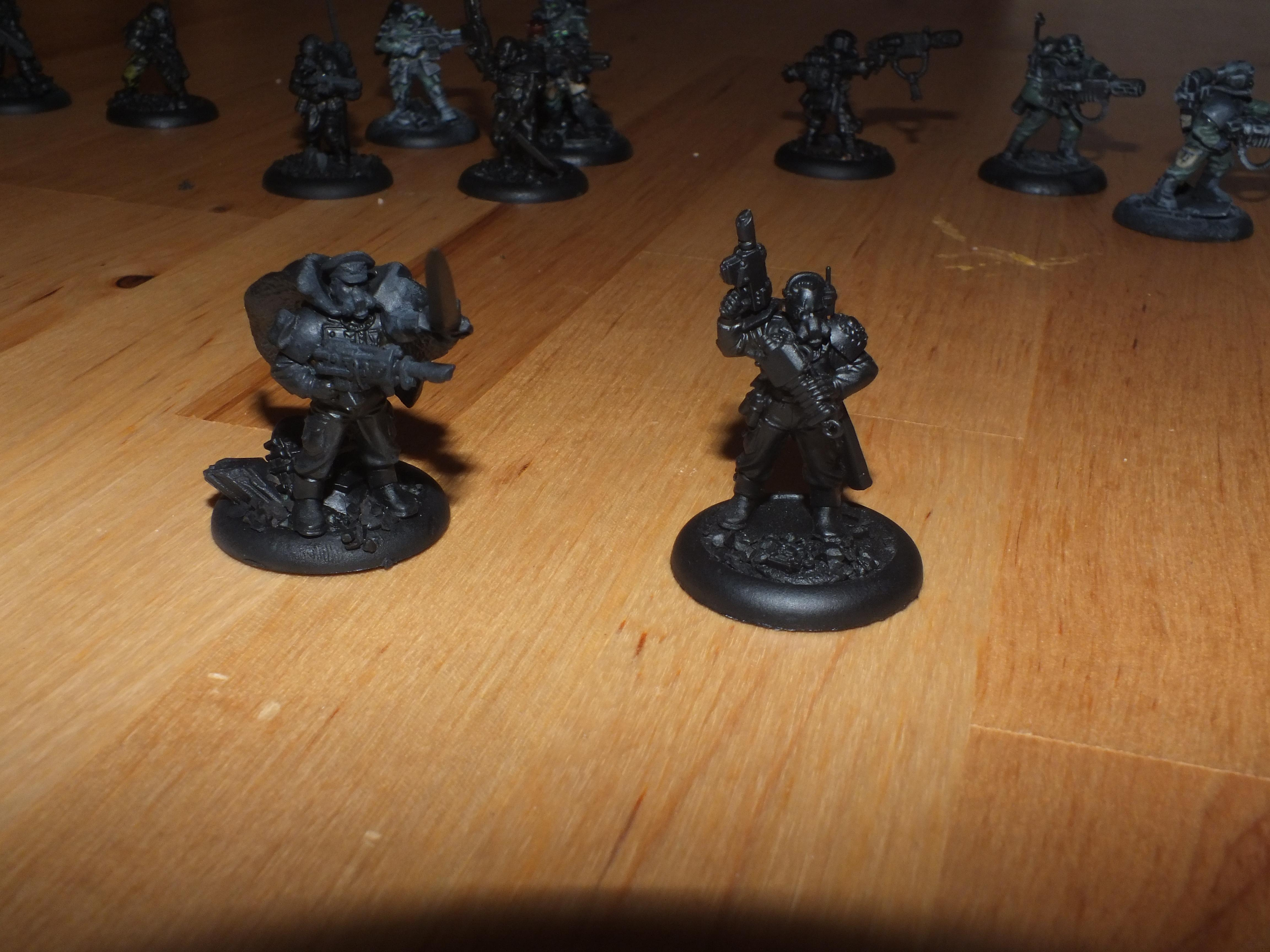 Imperial Guard, Bastone and MoF