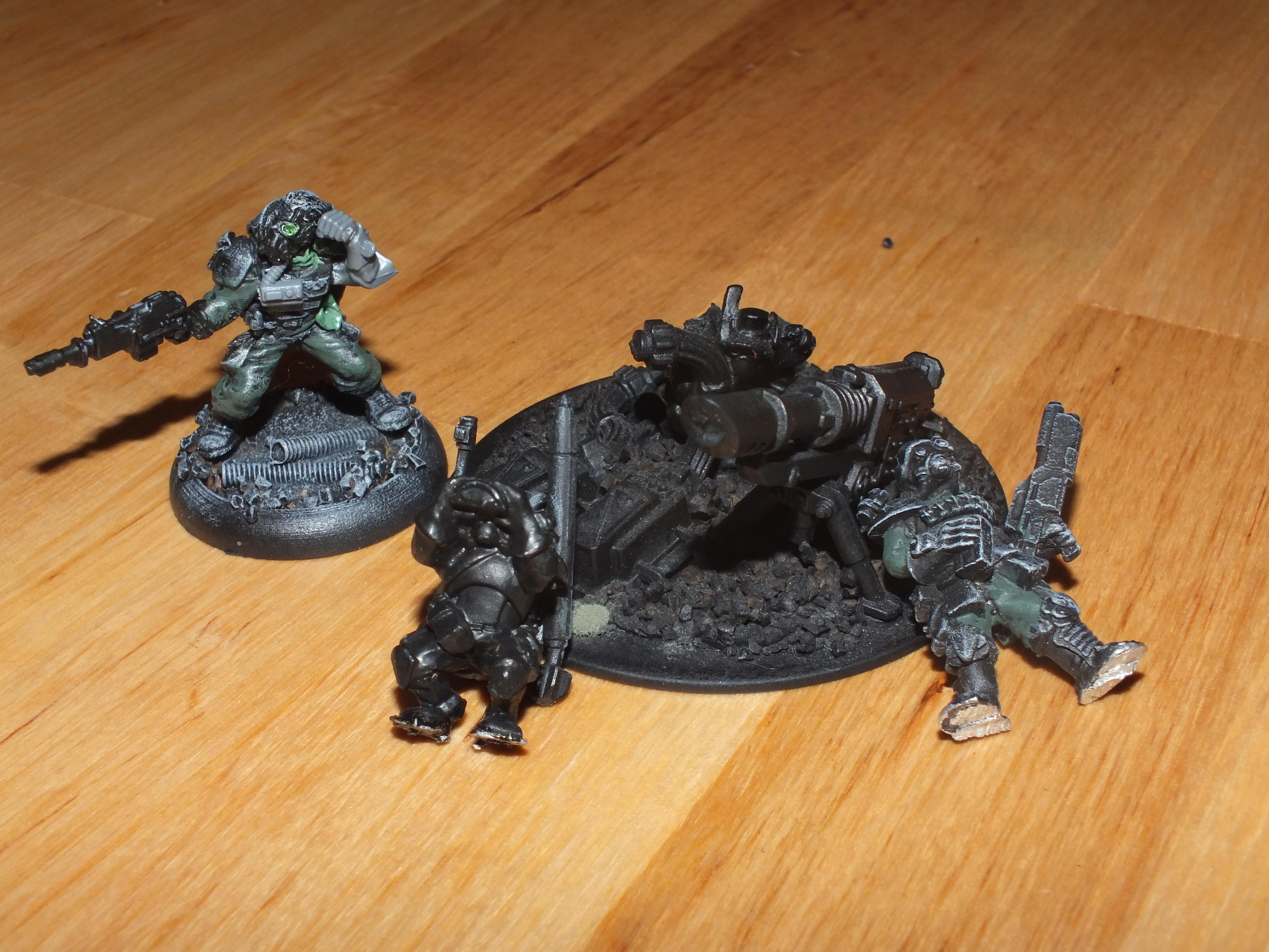Imperial Guard, Spare psyker / lascannon team