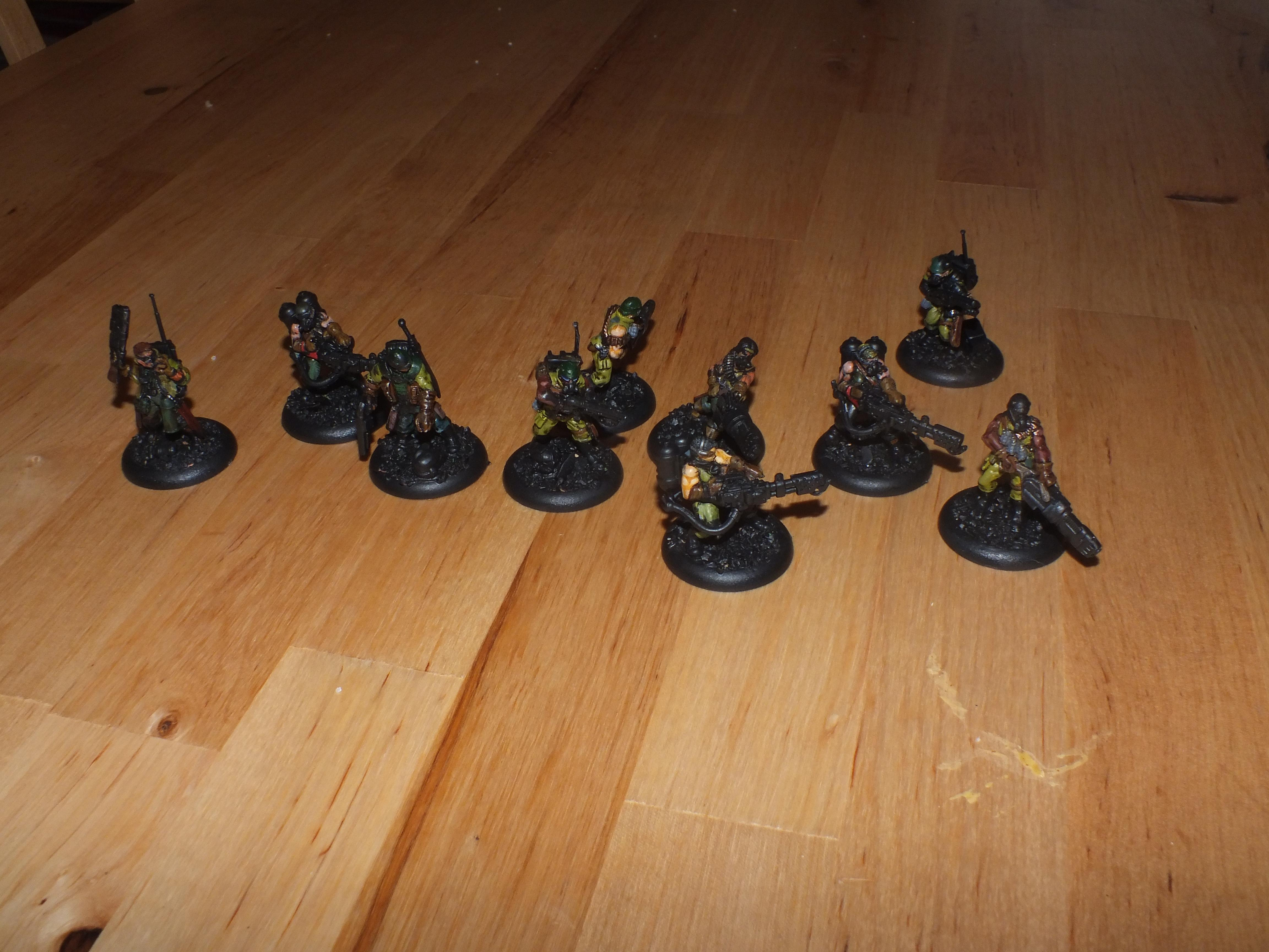 Imperial Guard, Catachan vets