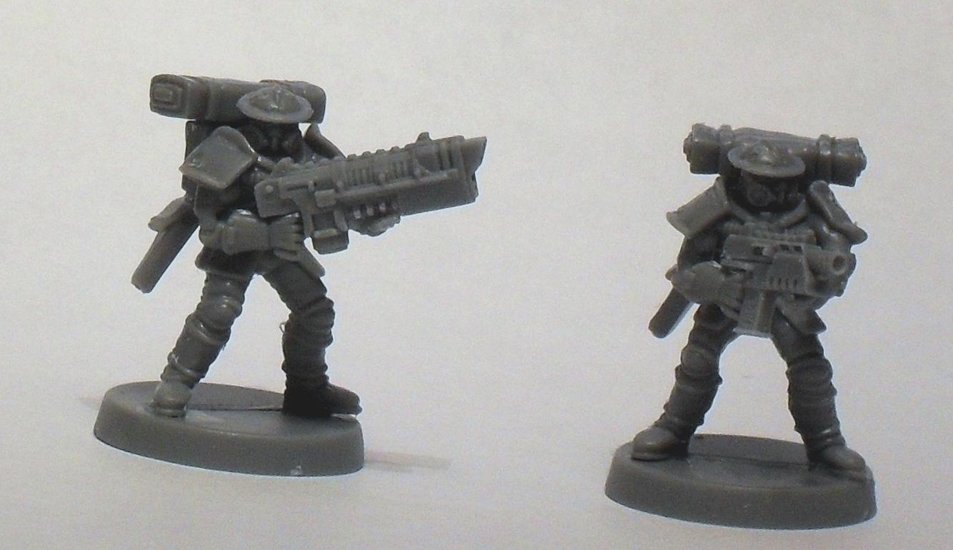 Imperial Guard, Warhammer 40,000, Warzone, Work In Progress