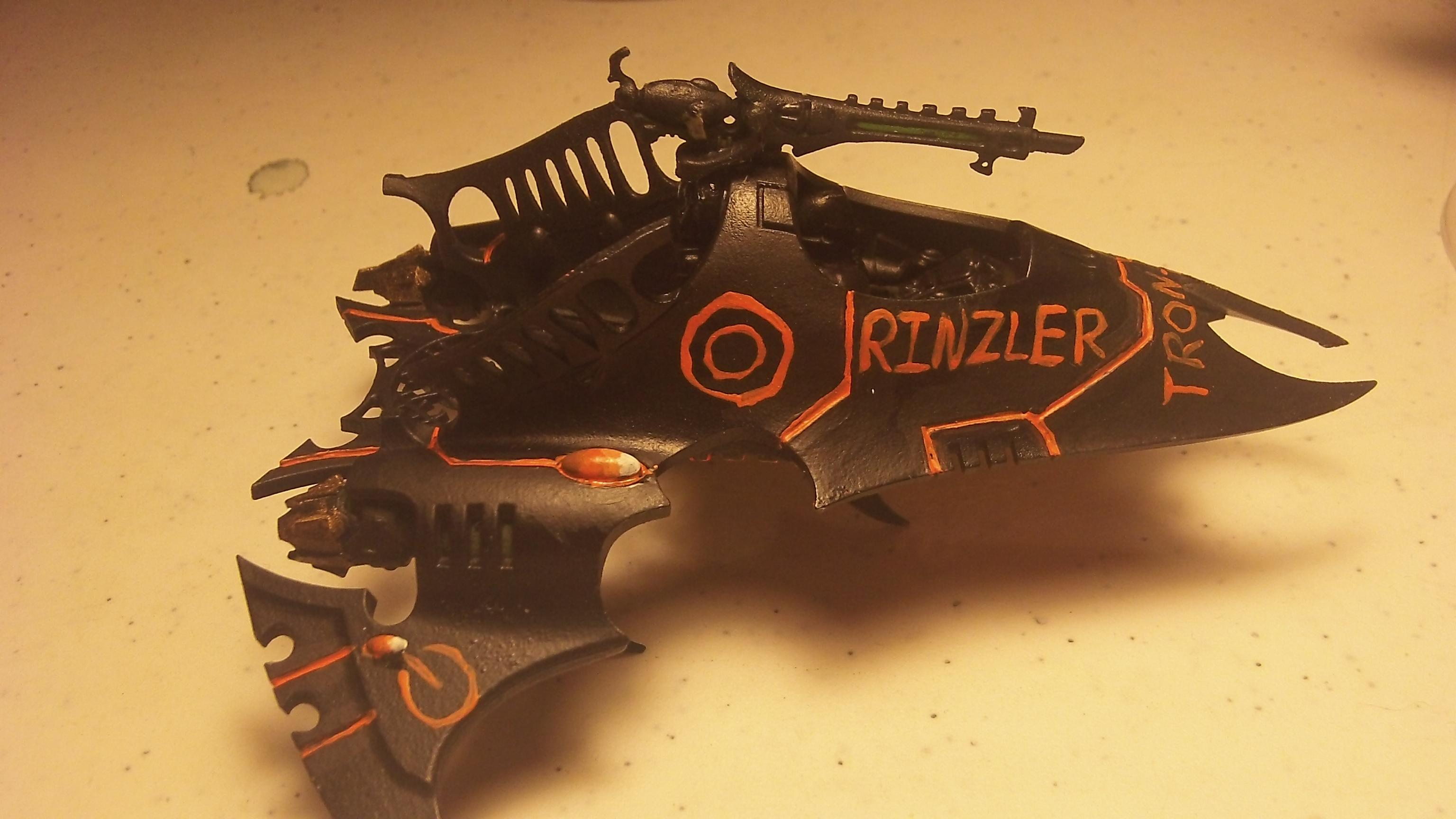 Rinzler's ride